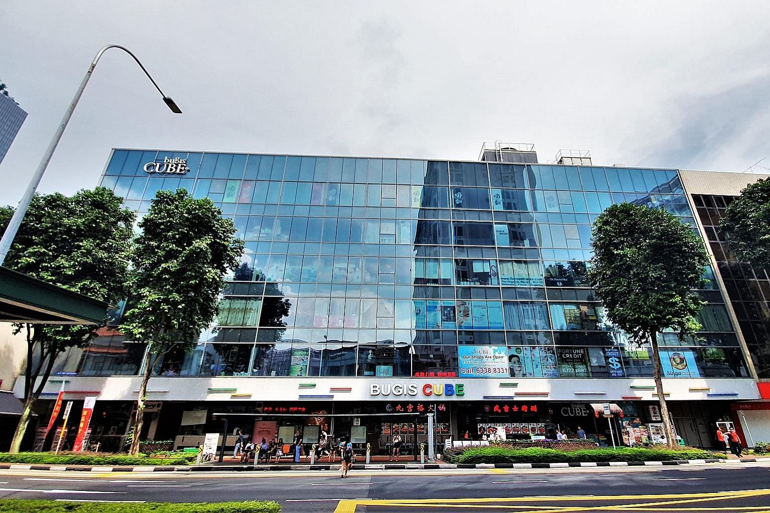 Bugis Cube, which sits opposite Bugis Junction, has 119 strata-titled retail shops, including F&B outlets and a karaoke lounge. It is about 250m from City Hall MRT and Bugis MRT stations, and has easy access from other parts of Singapore via the East