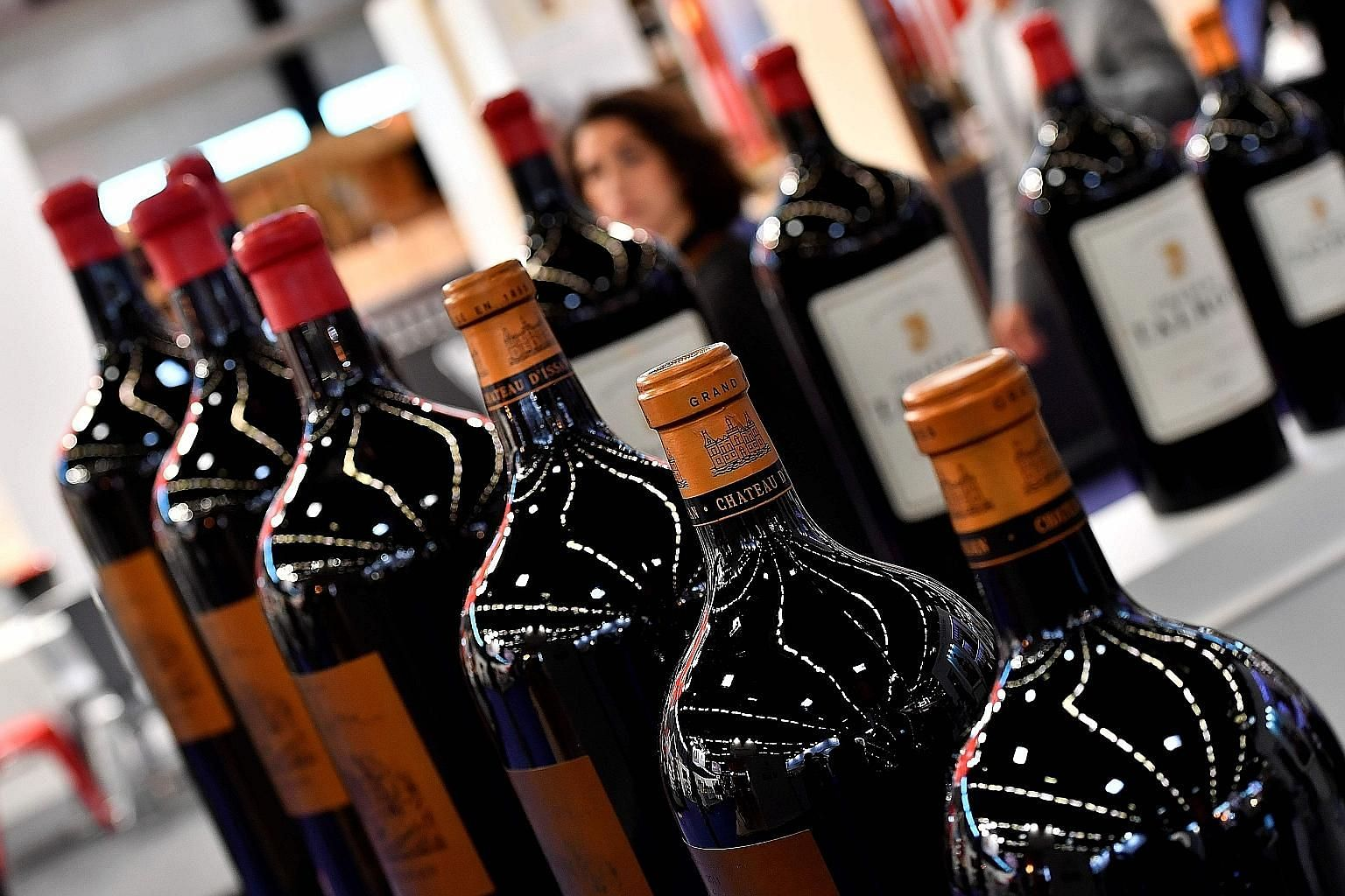 From left: Higher US tariffs on European Union goods such as wine, a possible no-deal Brexit on Oct 31 and a weak German economy could also tip the euro zone economy into recession, said DBS analysts.