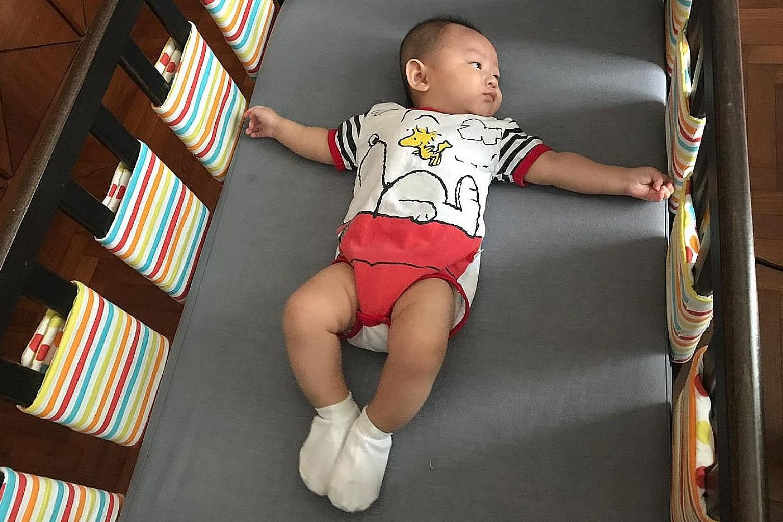 When Ms Chua Jia Ying decided to replace the cloth cot bumpers on her five-month-old son's cot with individual bumper wraps for the slats, it lowered the risk of the baby accidentally pressing his face against the bumpers and suffocating.