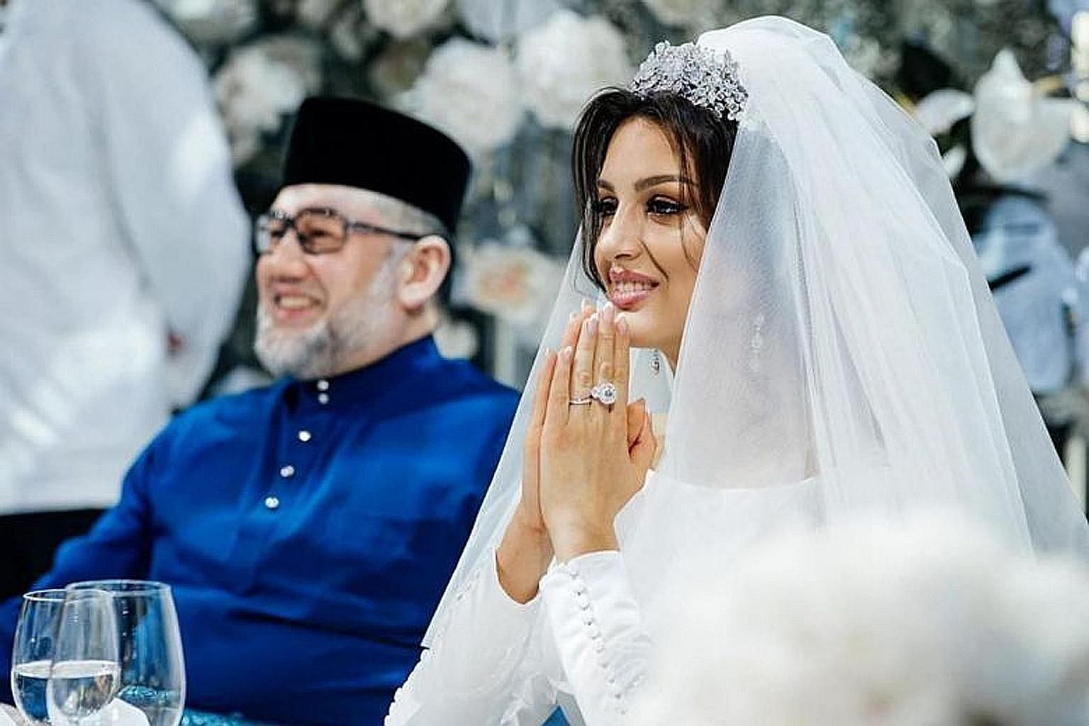 Ms Oksana Voevodina said she was forced to sell the ring after her former husband, Sultan Muhammad V of Kelantan, left her when she was pregnant. She said she used the money to pay for two months of hospital bills.