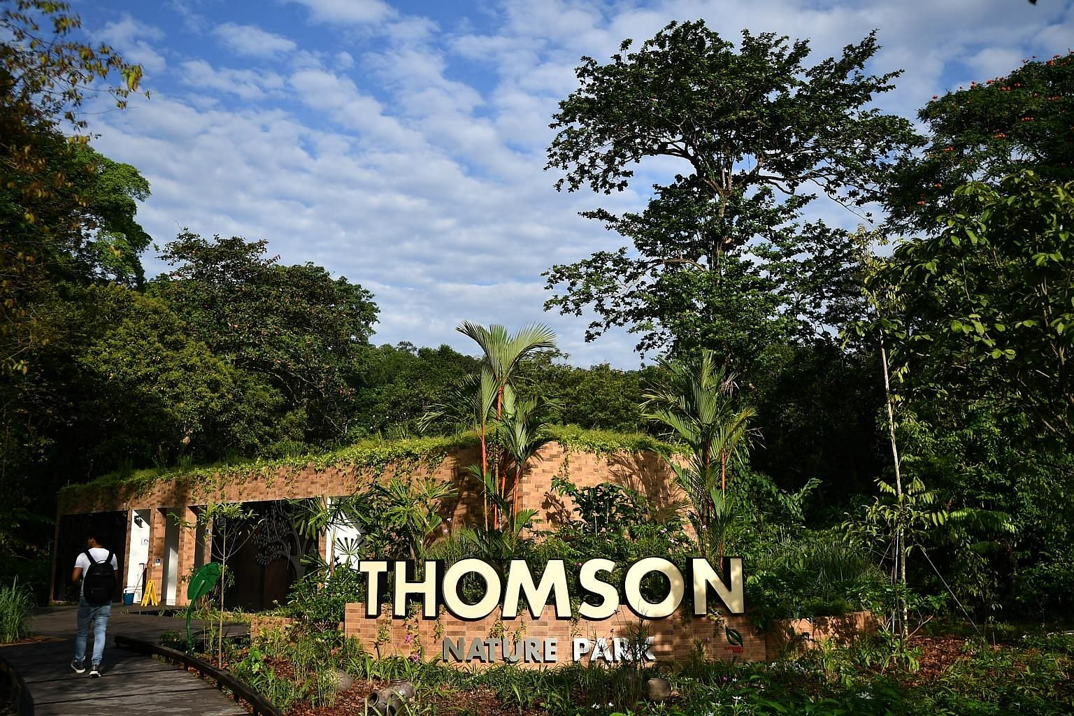 The 50ha Thomson Nature Park is built on the site of a former Hainan village and boasts lush vegetation, including rambutan trees.