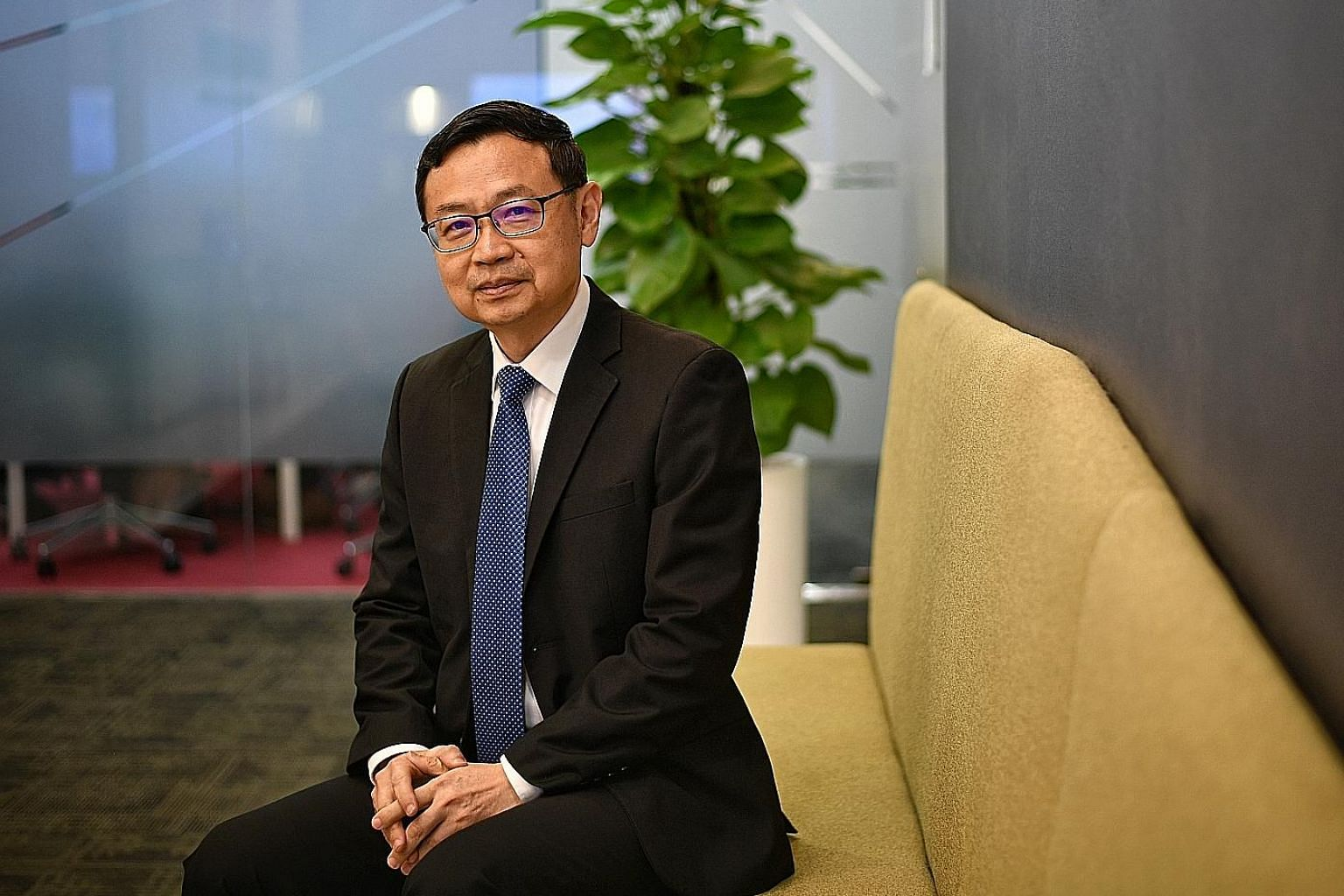 Mr Tong Yew Heng, chief executive of NetLink NBN Trust, says that in the residential segment, NetLink is the only fibre network provider with nationwide coverage. For the non-residential segment, NetLink's competitive edge is its extensive nationwide