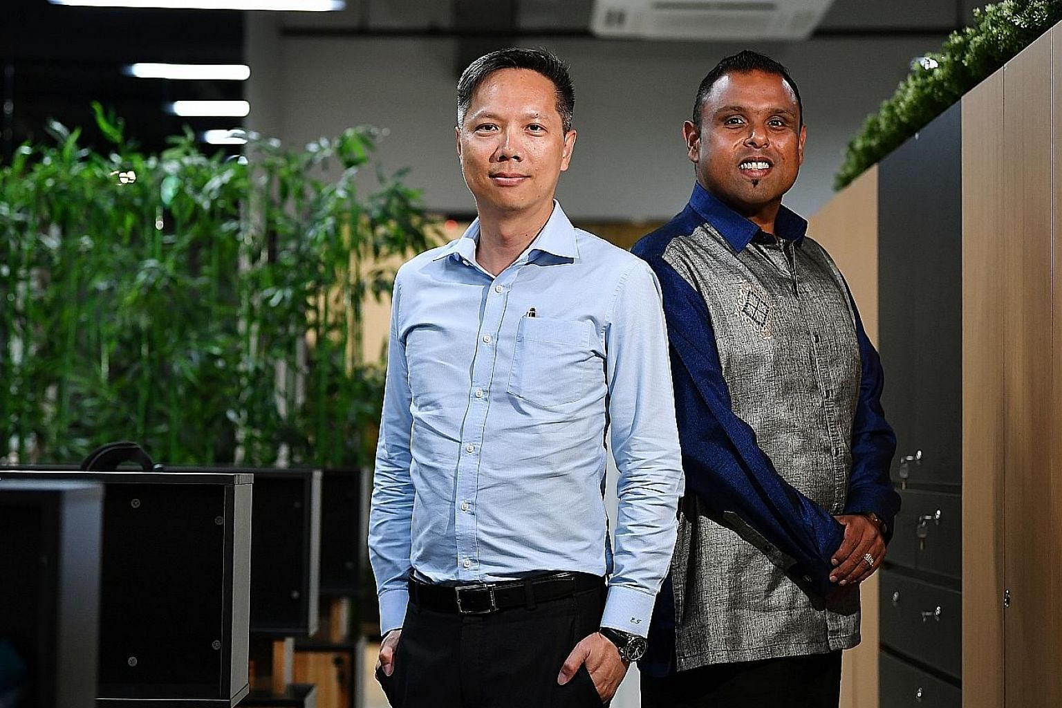 The idea for the Alliance of Guest Workers Outreach came out of discussions that the Reverend Ezekiel Tan (left) had last year with the Reverend Samuel Gift Stephen