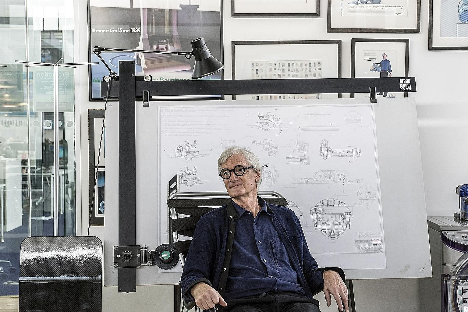 Mr James Dyson, says the writer, was clear-headed enough to abandon his electric vehicle project despite having declared his belief in it publicly, and hiring 500 staff. Having crossed the Rubicon, he crossed back when he discovered rough terrain on