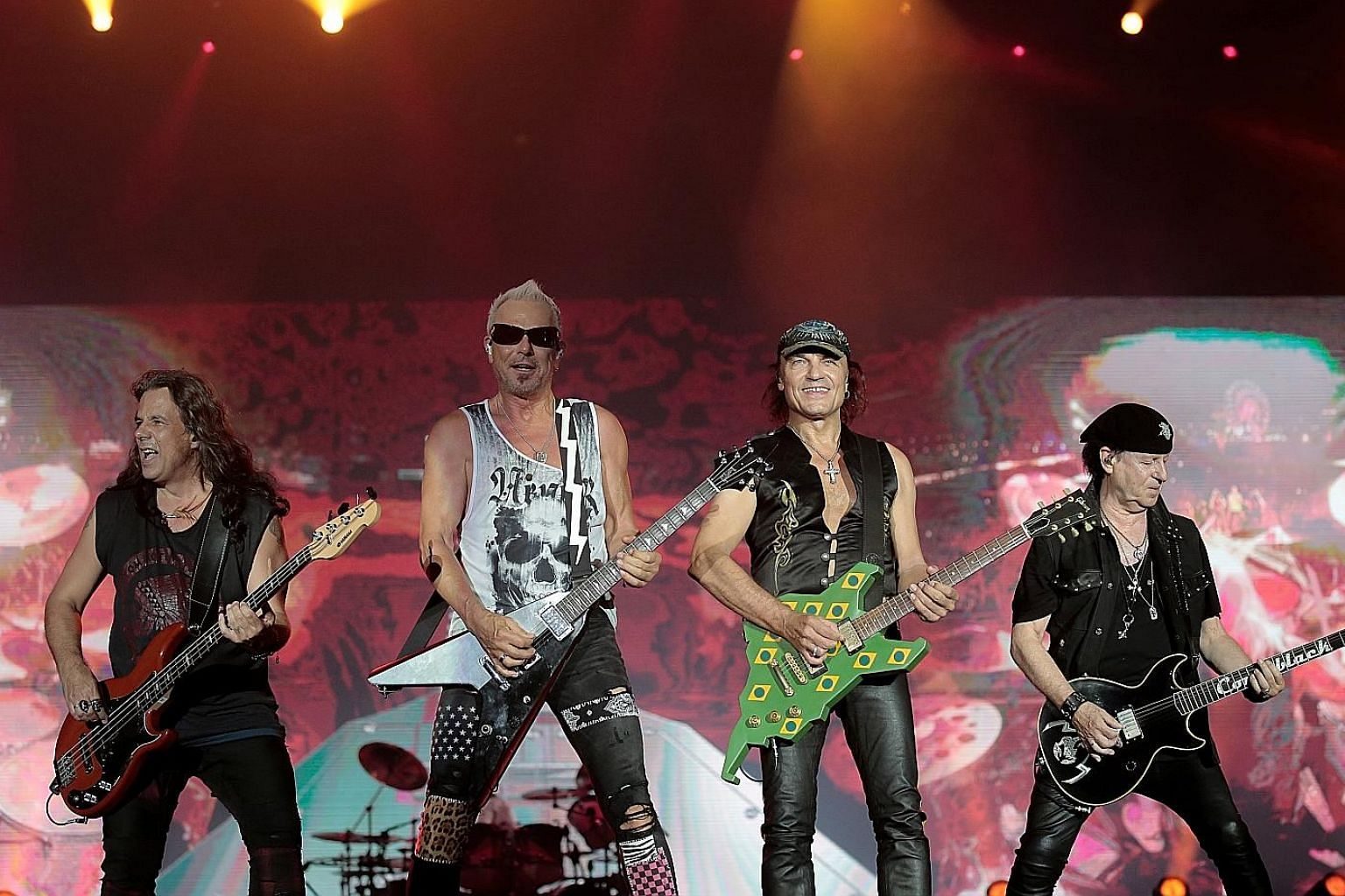 German band Scorpions will perform at Singapore Rock Festival II in March next year.