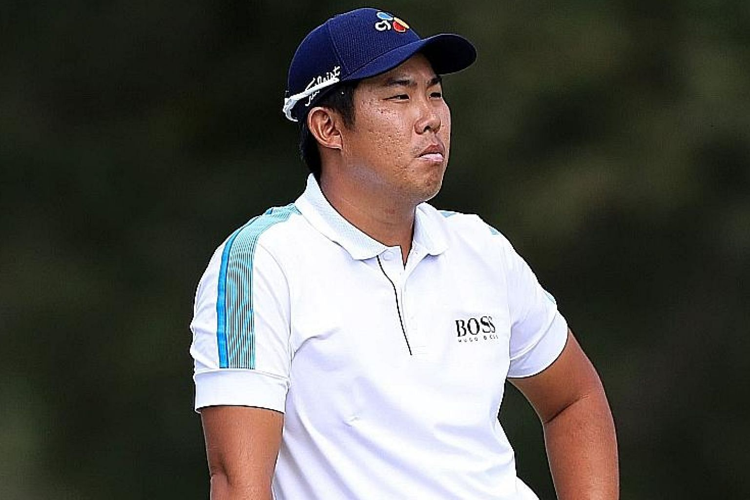 An Byeong-hun hit well when it mattered to lead the opening round of the CJ Cup.
