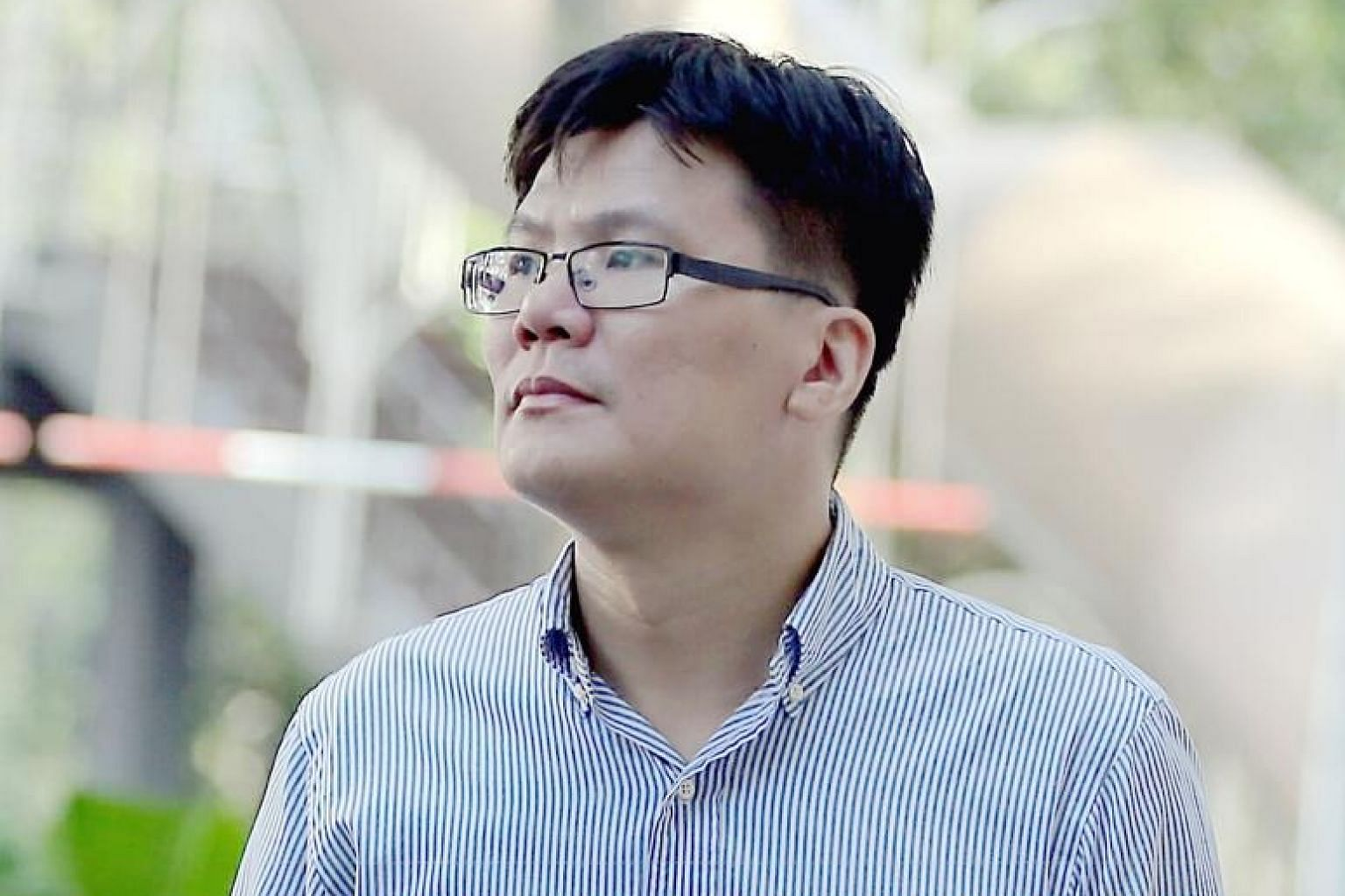 """The prosecution said Lu Chor Sheng had """"grossly abused his position of trust"""" to benefit himself."""