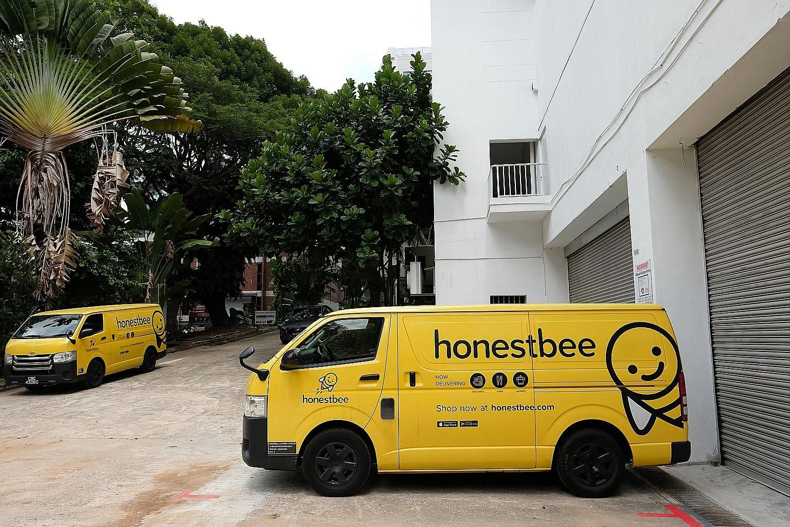 Retail start-up Honestbee was recently granted a four-month reprieve from creditors, who are owed in excess of $280 million. It has since made plans to pay off some of its debt. ST PHOTO: CHOO YUN TING