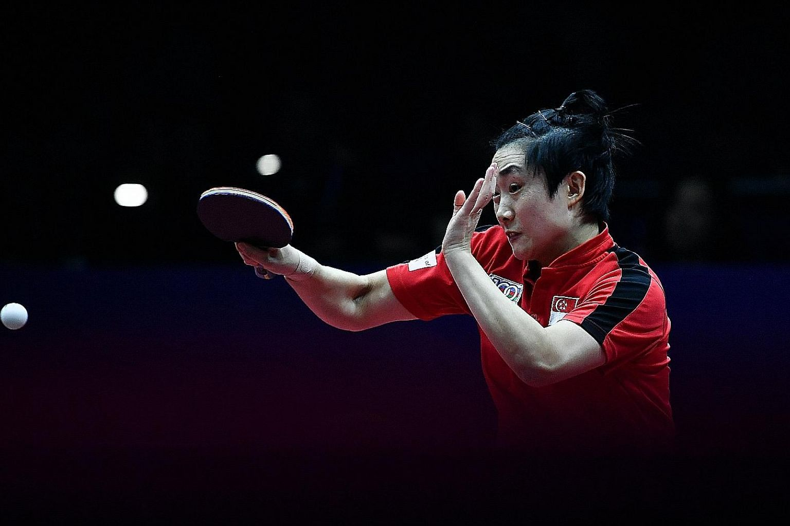 Singapore's Feng Tianwei's revival continued at the Women's World Cup in Chengdu where she beat Japan's world No. 8 Kasumi Ishikawa in the last eight before losing to third-ranked Zhu Yuling of China in the semi-finals.