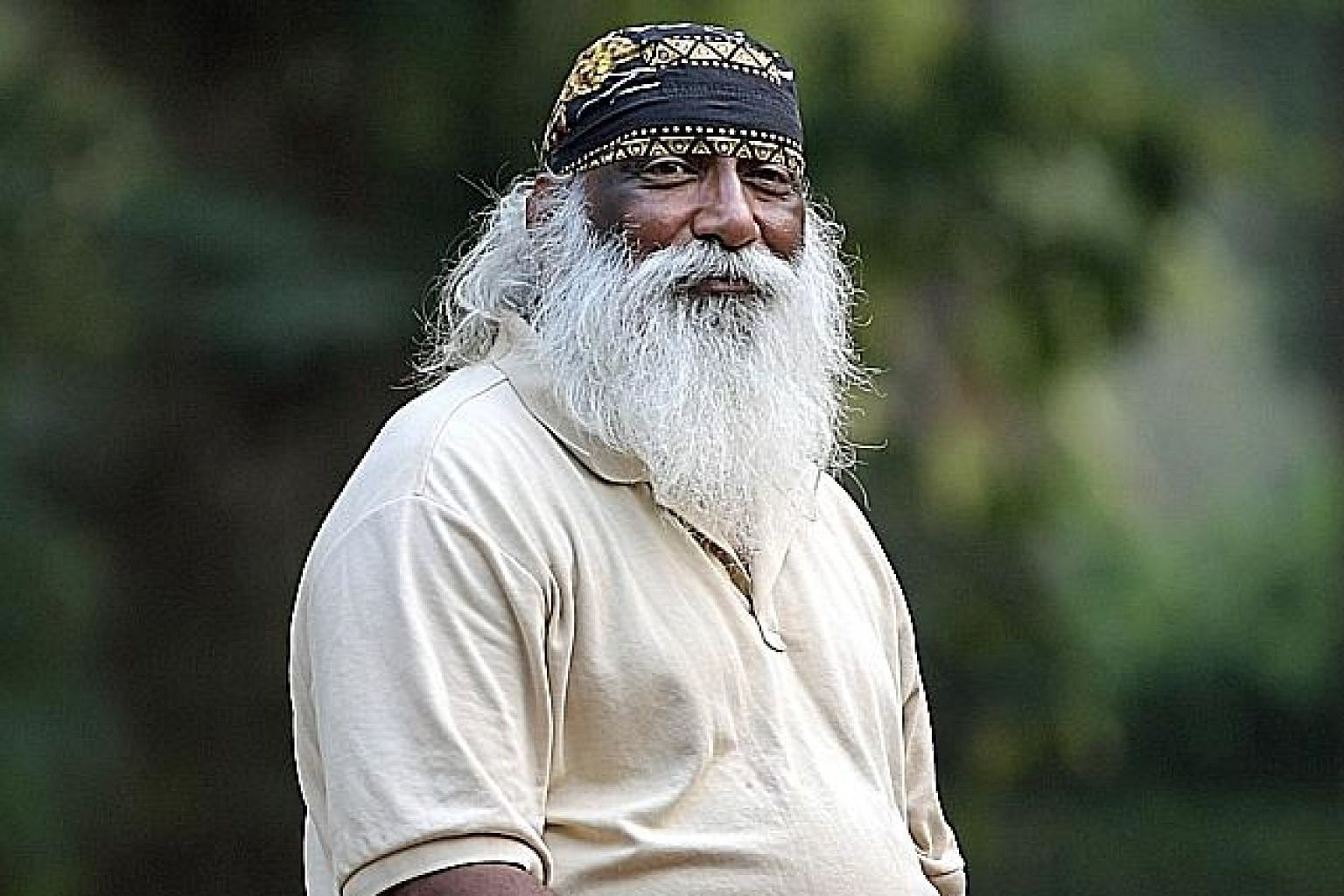The death of conservationist Subaraj Rajathurai sparked an outpouring of grief from the public and the nature community yesterday. ST PHOTO: ALPHONSUS CHERN