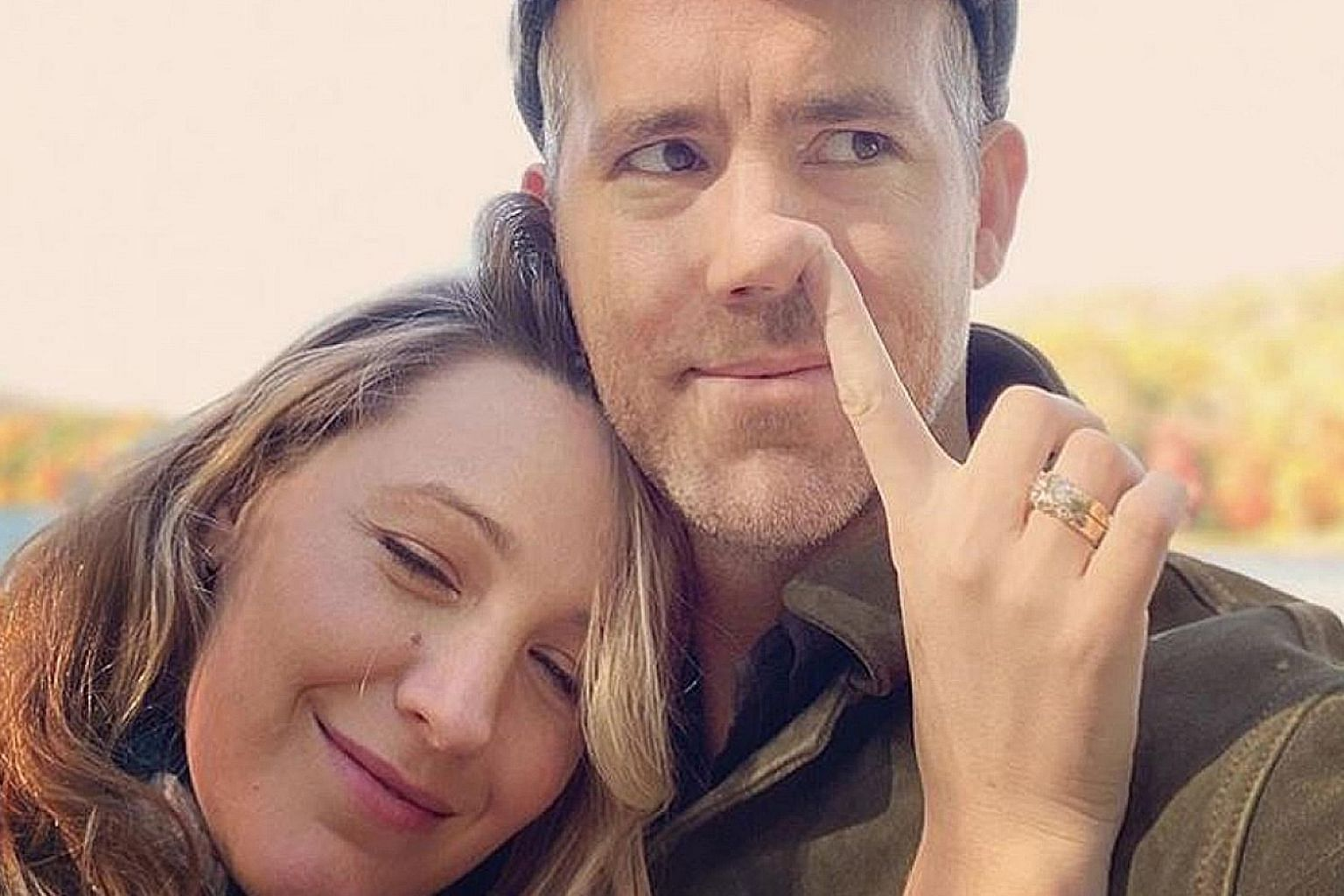HAND-PICKED: Hollywood celebrity couple Ryan Reynolds and Blake Lively are known for trolling each other on social media. So it was no surprise that Lively, who has just given birth to their third child over the summer, would troll her husband when h