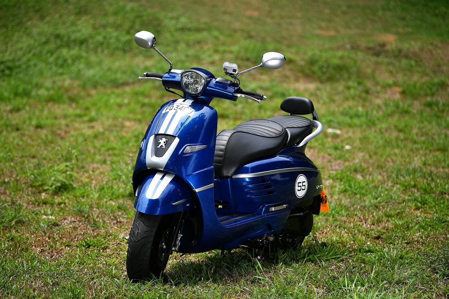 The Django is a likeable scooter with more than a hint of old-school charm in its silhouette.