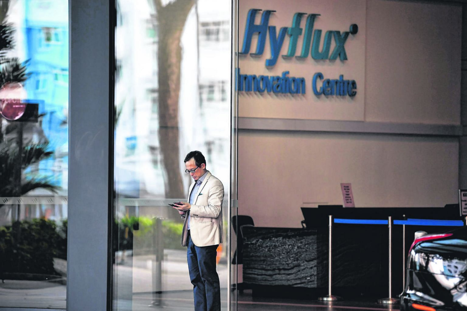 The original proposed rescue package with Utico involves the utility taking an 88 per cent stake in Hyflux.