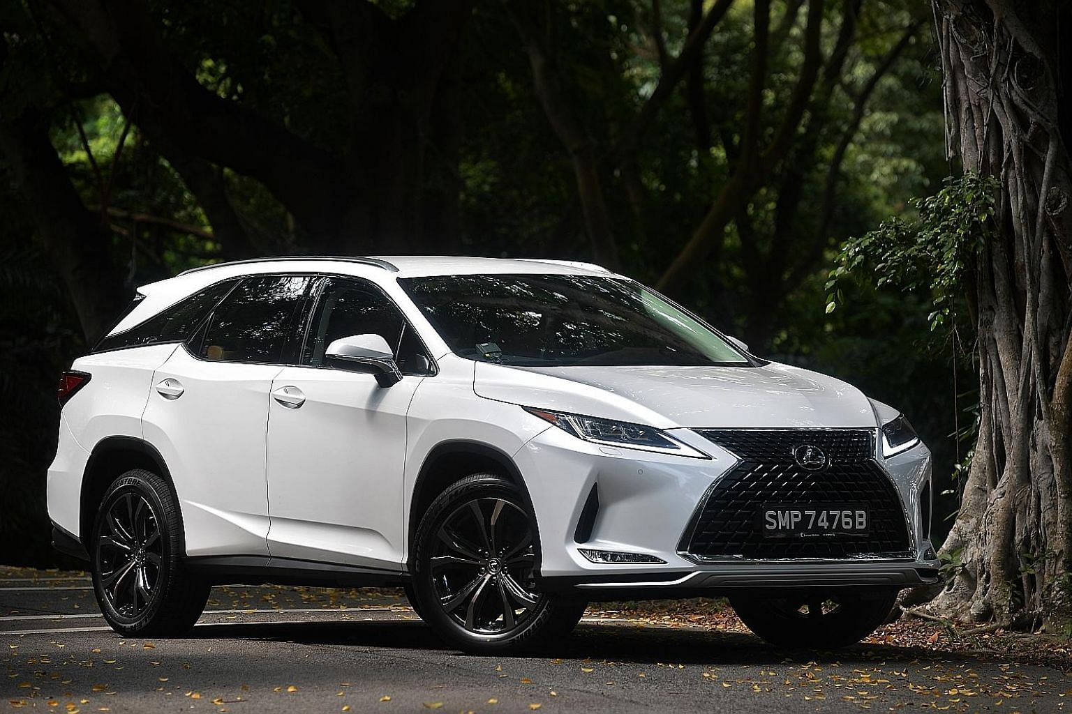 The Lexus RX350L boasts a host of new features, including an intelligent high beam and safety systems such as lane-keeping, rear cross traffic alert and blindspot monitor.