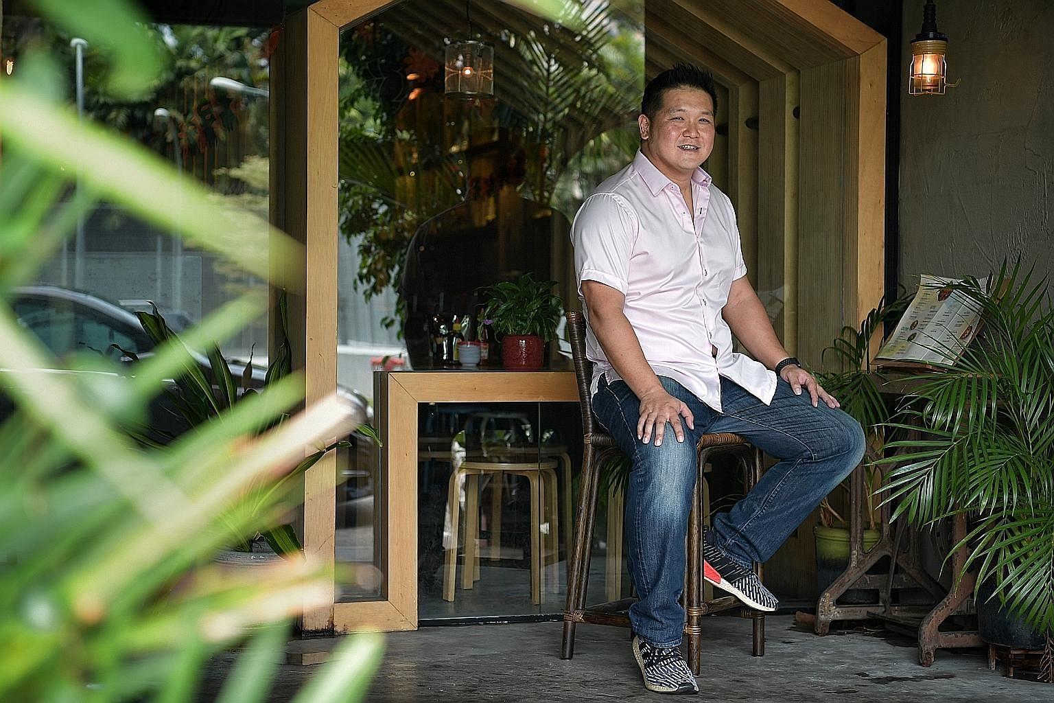 Besides the Vietnamese eatery Mrs Pho, which has expanded to three outlets, Mr Darien Tan also runs an oil-trading company and, last year, he started a third business - in recycling. The new business focuses on solutions that transform food waste, fa