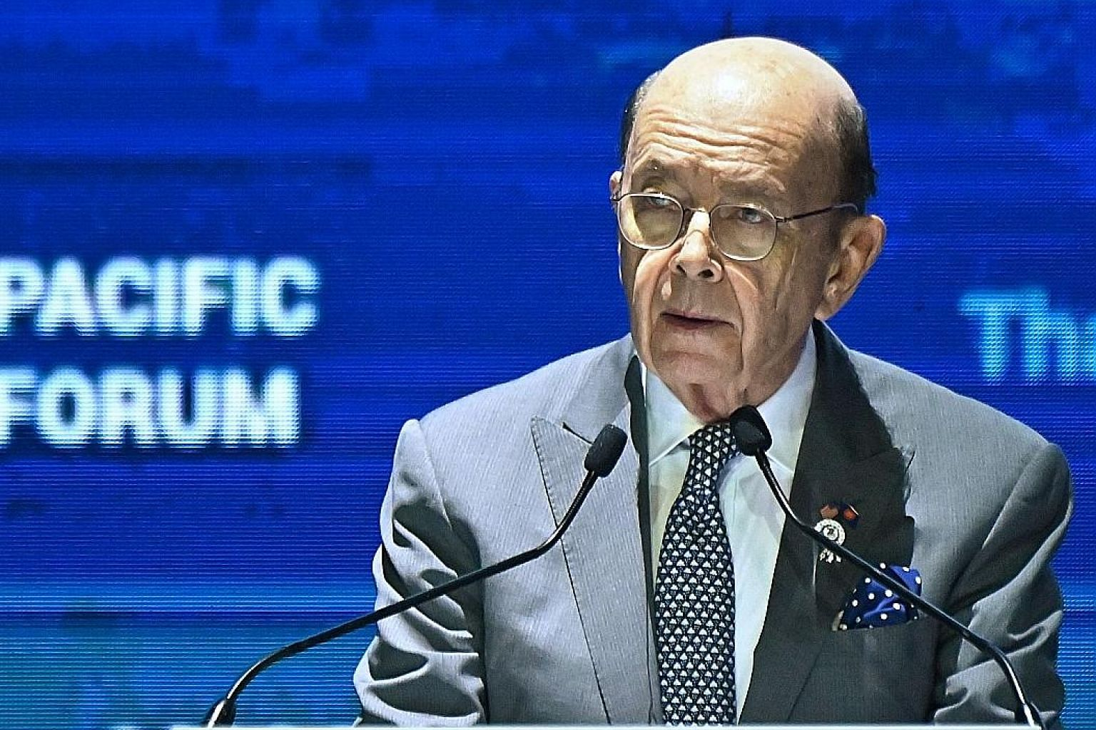 Mr Wilbur Ross is leading an economic mission to Thailand, Indonesia and Vietnam.