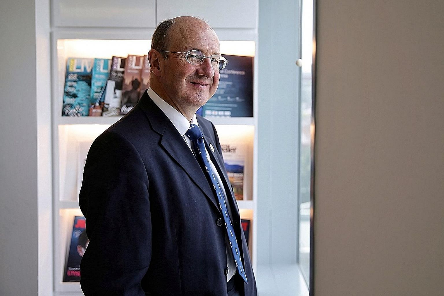 Mr Michael Izza, head of the Institute of Chartered Accountants in England and Wales, said private enterprise now has more opportunity than ever to make an impact.