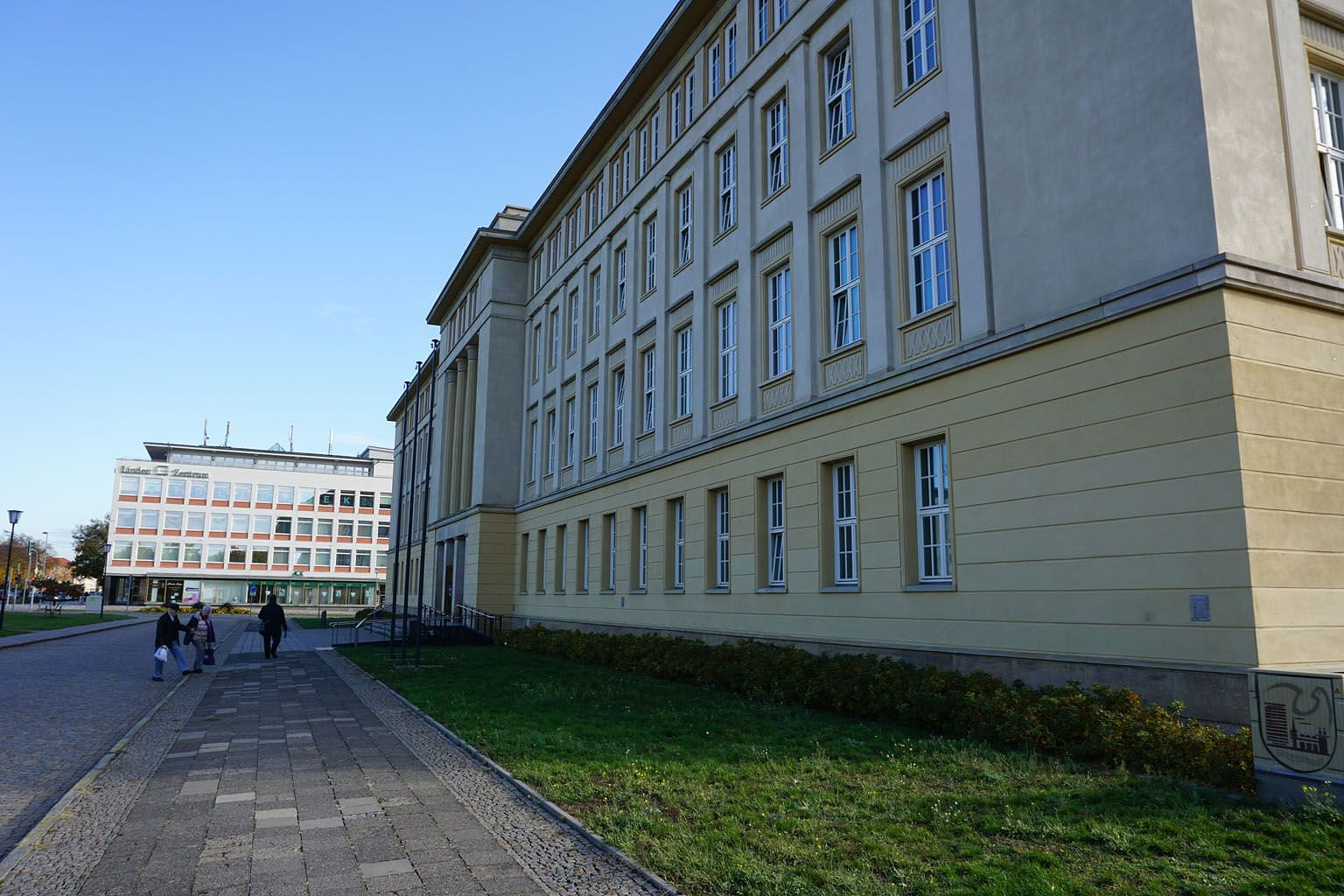 Thirty years after the unification of East and West Germany, the City Hall of Eisenhuttenstadt - a town 100km east of Berlin - stands as a reminder of an East Germany that once basked in a glorious socialist past. Eisenhuttenstadt's population has halved