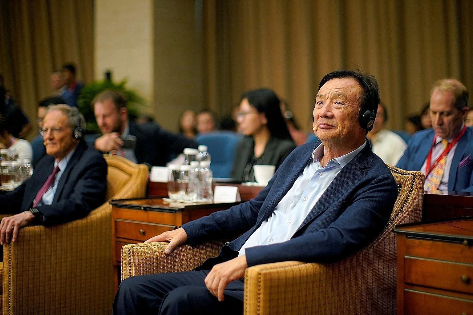 Since Huawei's troubles started last year, its once media-shy founder, Mr Ren Zhengfei, has spoken up for the beleaguered company at a panel discussion series started in June for business partners and journalists at its headquarters.