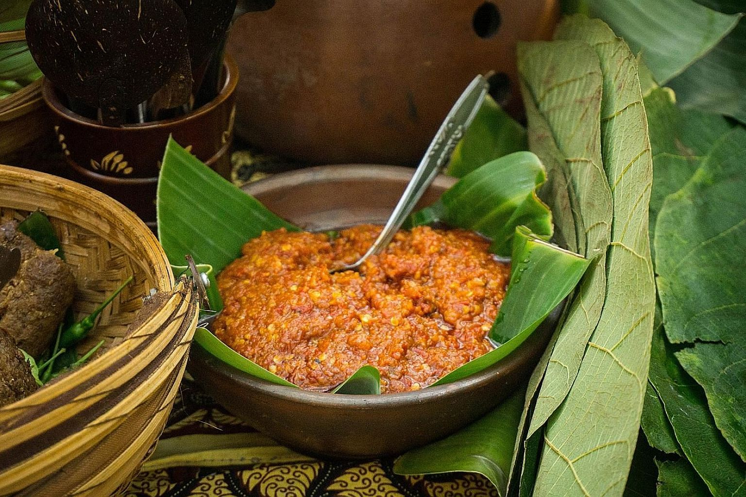 A good sambal can liven up practically any kind of food.
