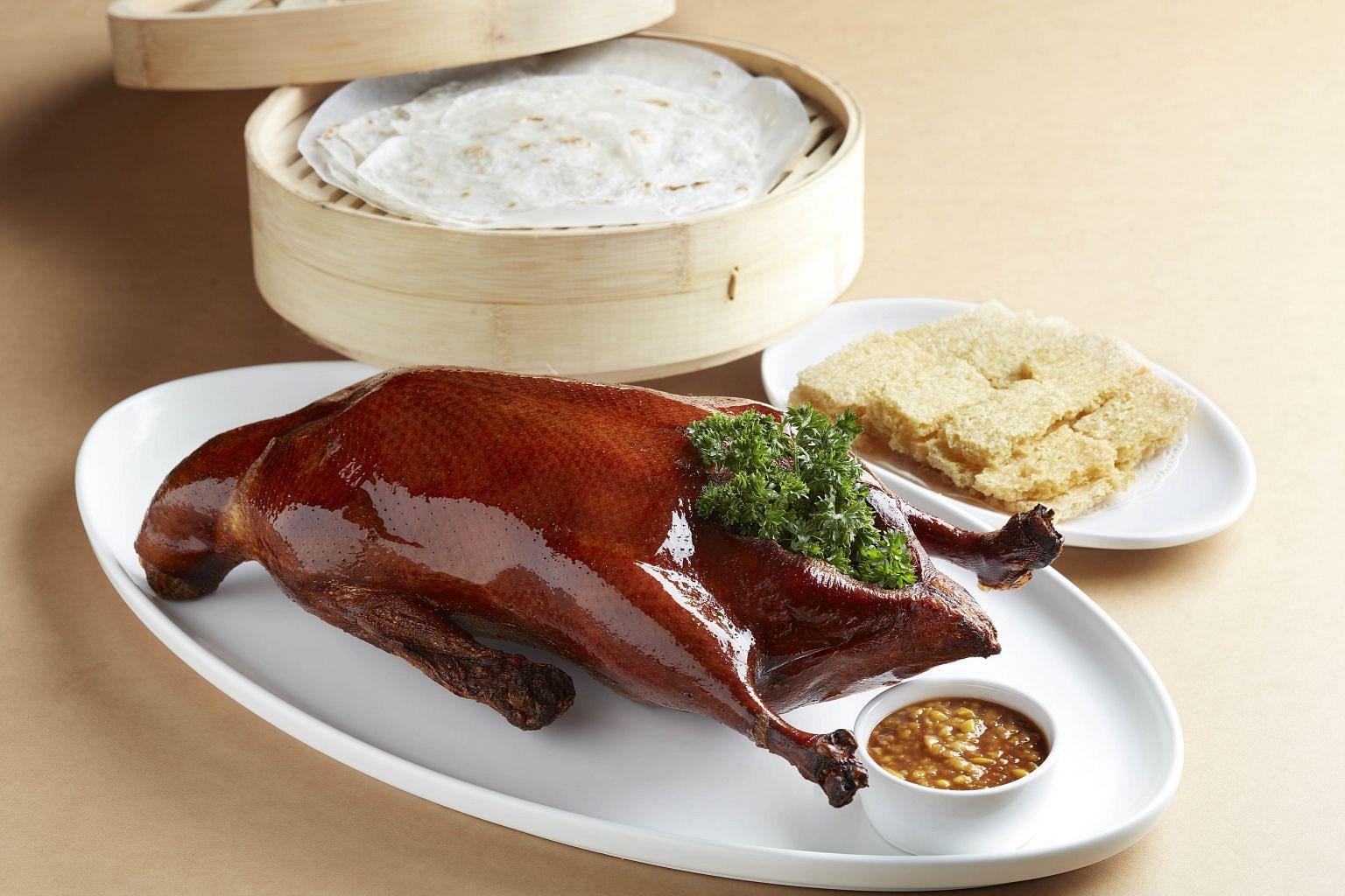 Signature Peking Duck ($68)