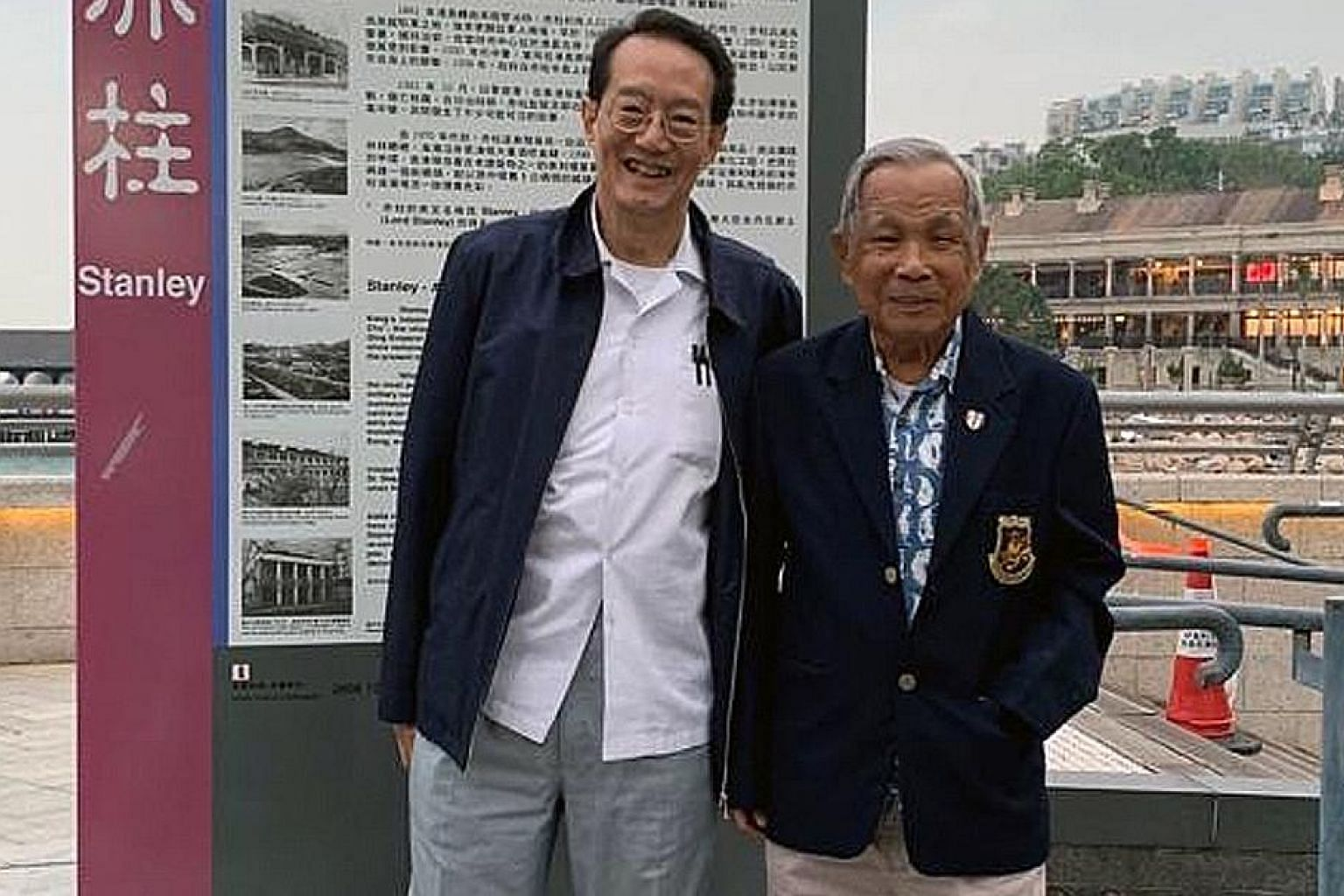 Columnist Woffles Wu with his Uncle Wingky, or Mr Ho Weng Toh, the last remaining bomber pilot from the famous Chennault's Flying Tigers who defended China during the Second World War.
