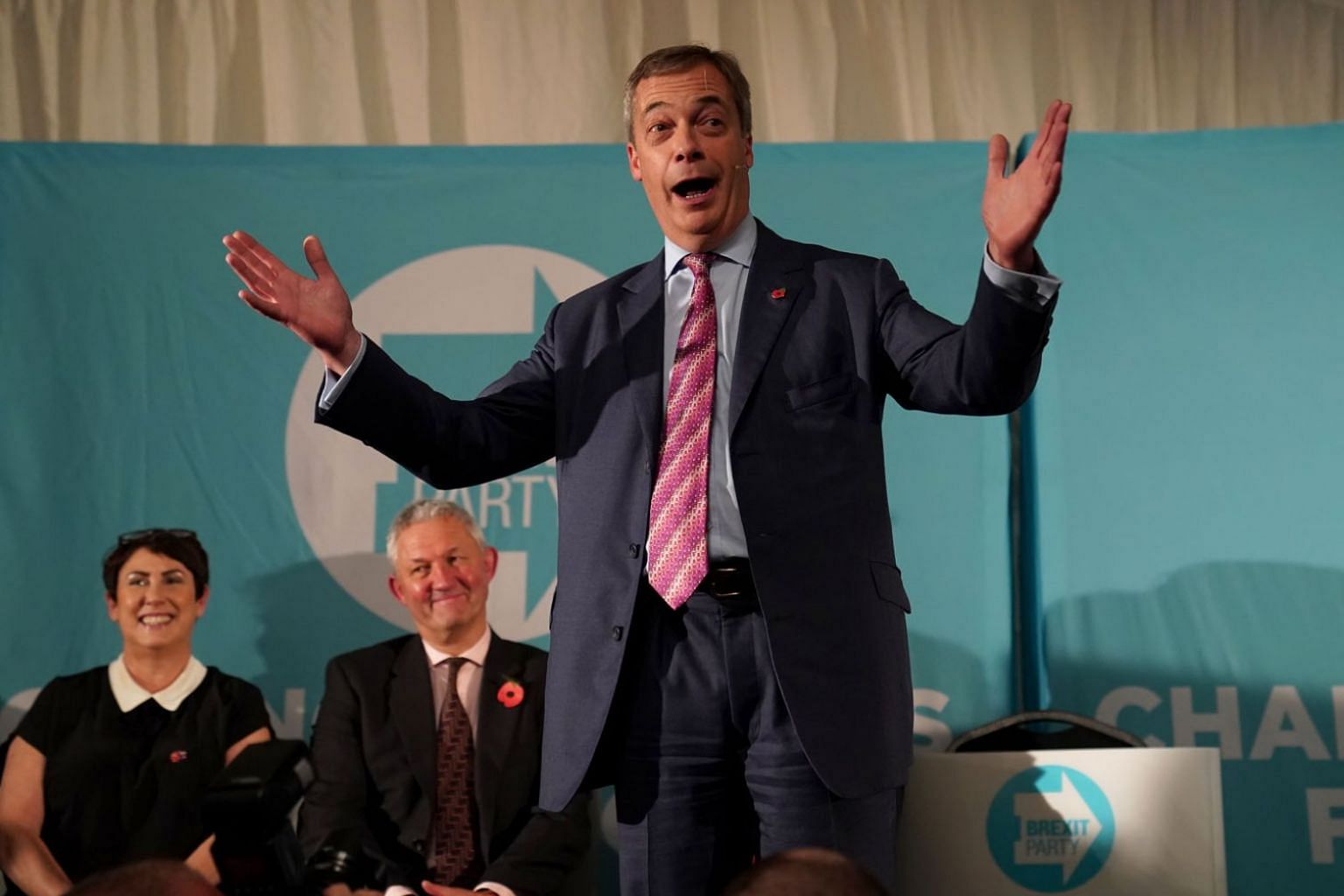 Mr Nigel Farage says his Brexit Party will not fight for the 317 seats won by the Conservative Party in the 2017 election.