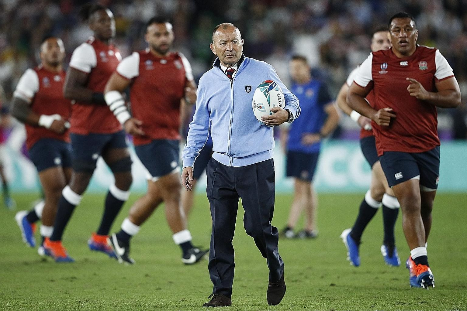 England coach Eddie Jones is likely to be given the opportunity by the Rugby Football Union, the nation's governing body, to coach the team for the 2023 World Cup but he has yet to discuss his future.