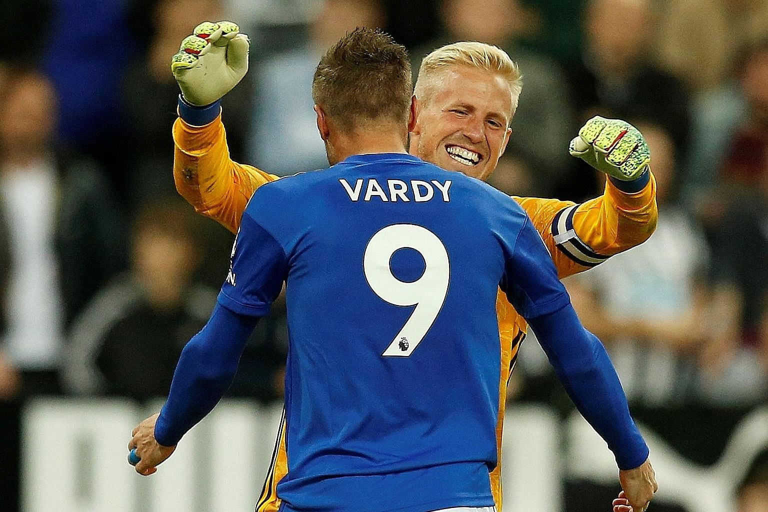 Aiyawatt has maintained the trust of Kasper Schmeichel (in yellow) and Jamie Vardy, the back and front of Leicester's 2016 miracle.