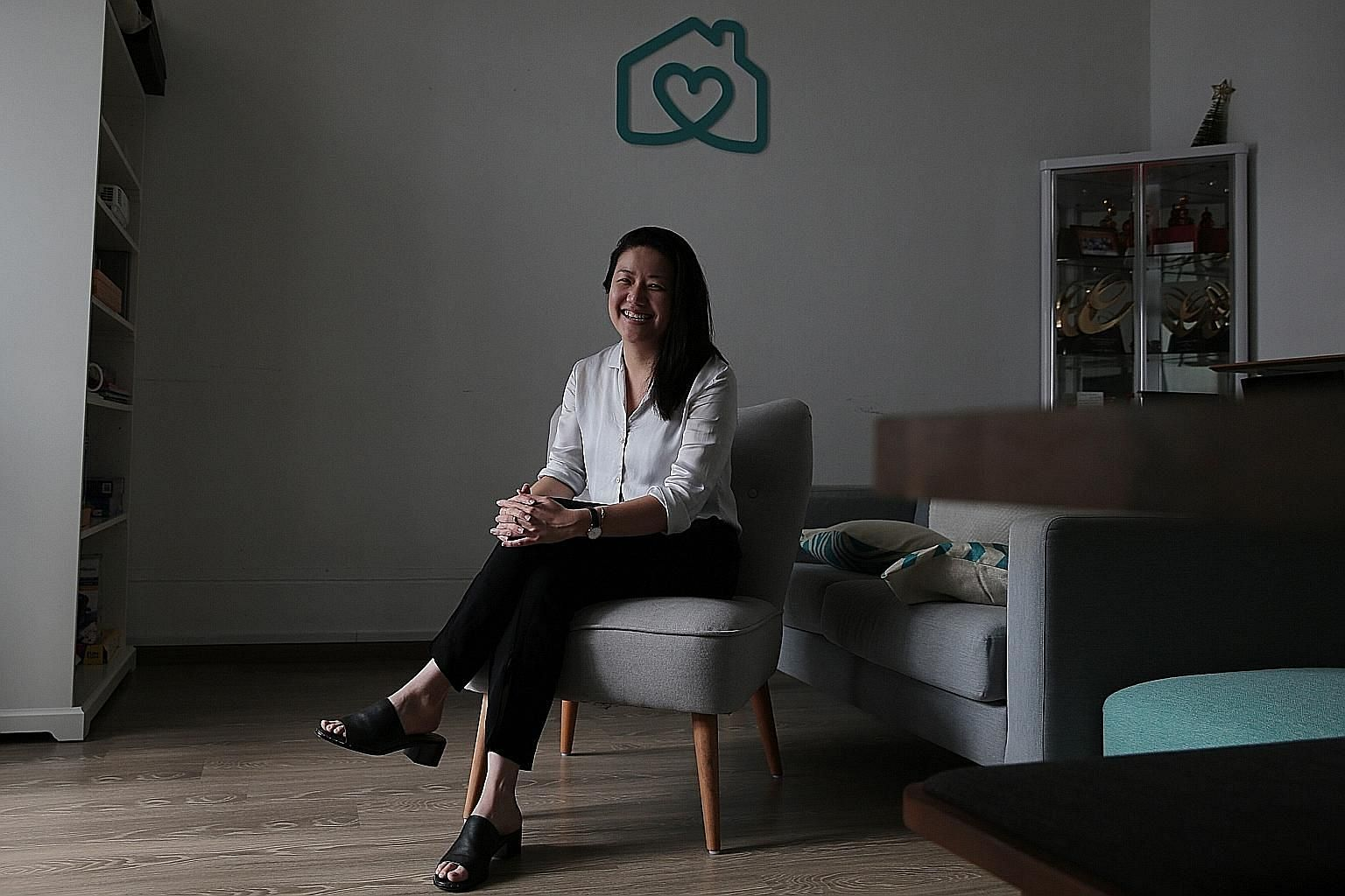 Ms Gillian Tee started Homage with two other co-founders in 2016, after finding it difficult to find help for her mother. Last month, she won Women's Weekly magazine's Great Women of Our Time Award, which honours Singapore's most inspiring women.