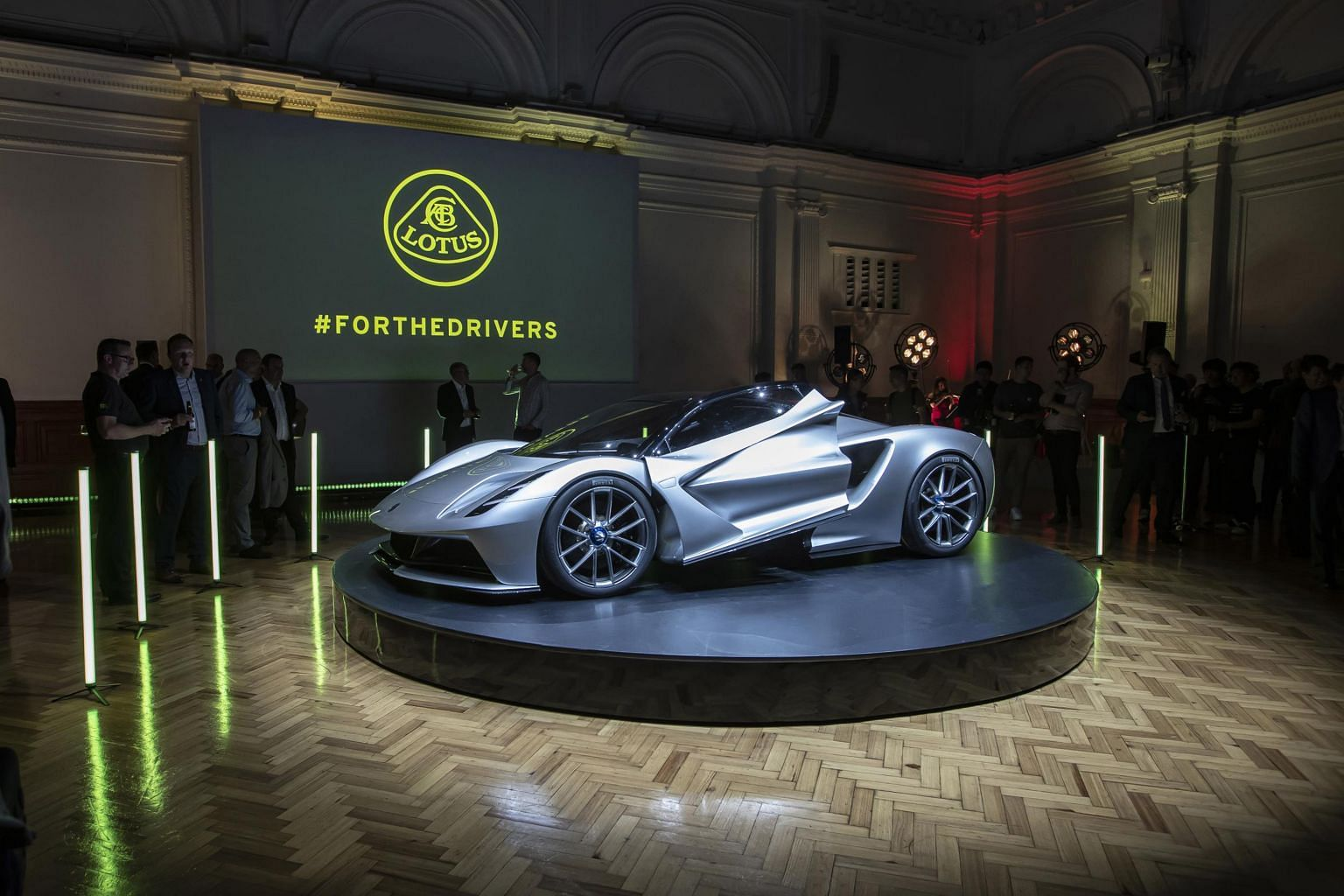 Lotus is focused on producing cars such as the Evija, which has a mid-mounted 2,000kW lithium-ion battery, giving it the sharp handling of a mid-engined sports car.