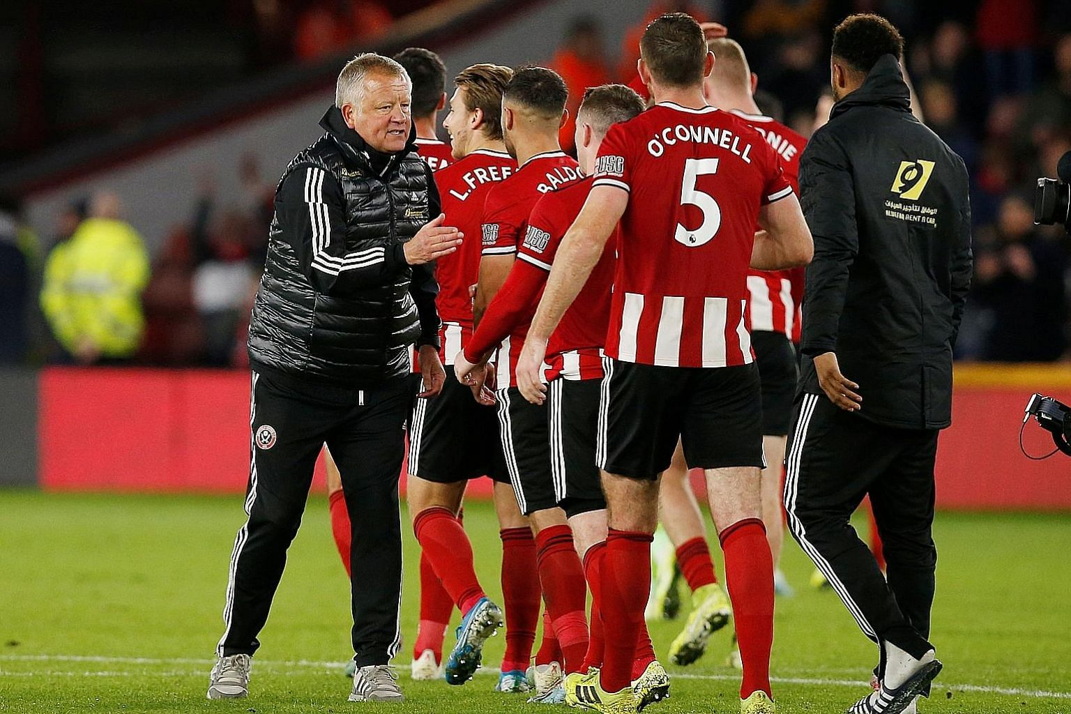 Sheffield United manager Chris Wilder has brought his boyhood club up from the foot of the third division to the top half of the English Premier League in three years. PHOTO: REUTERS