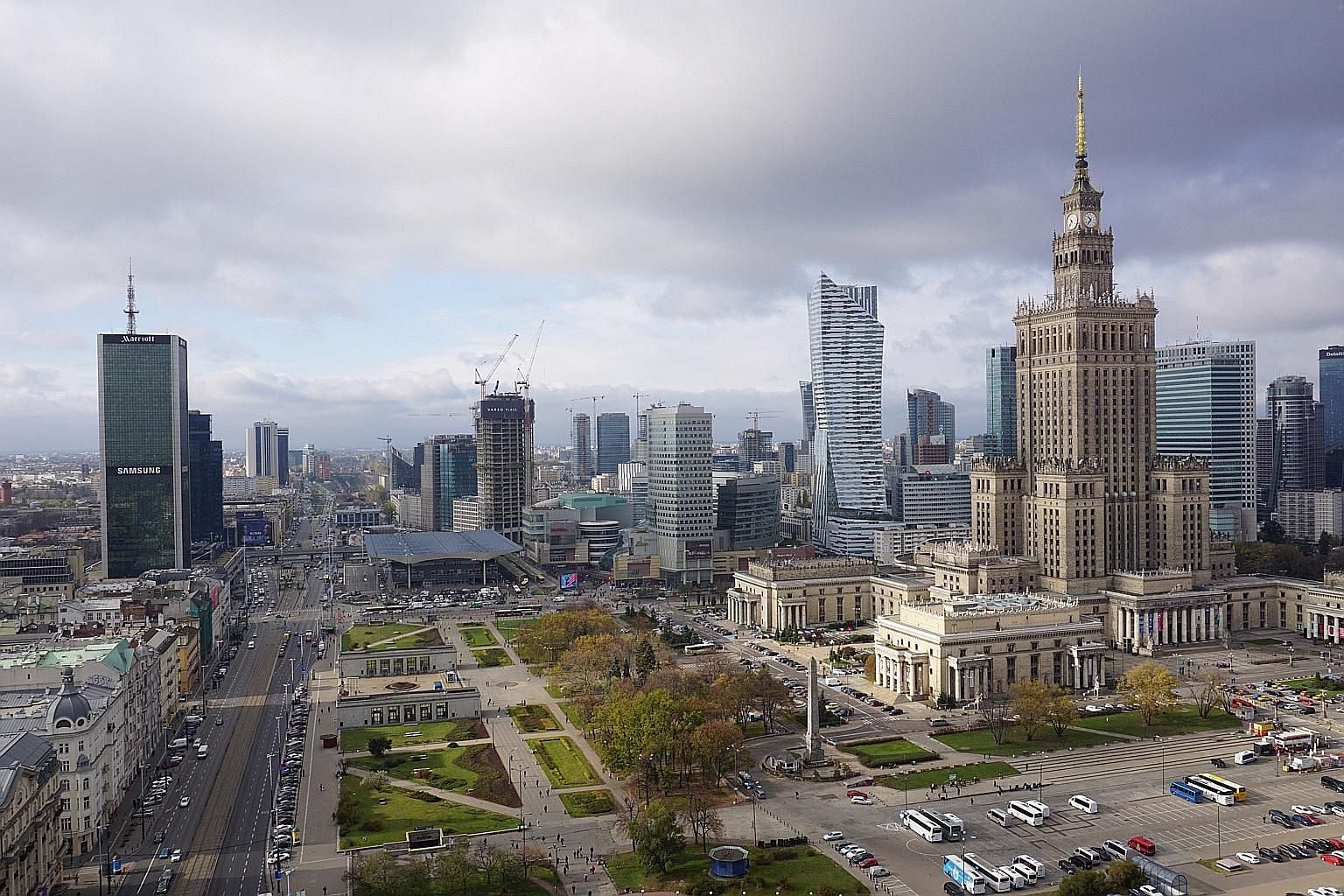 The Warsaw skyline, once dominated by a huge Soviet-style palace, today resembles a fast-growing metropolis. More foreign investors have realised that it is Poland, the Czech Republic and Hungary where the return on investment is substantial, say exp