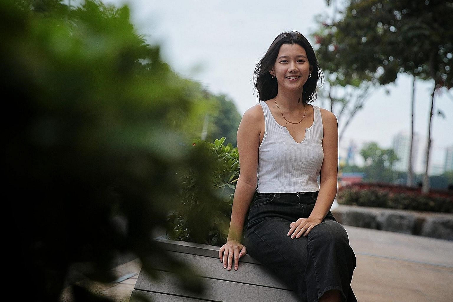 National University of Singapore undergraduate Monica Baey, who was filmed showering in Eusoff Hall by a fellow student last year, was a panellist at Taking Ctrl, Finding Alt 2019 yesterday. She said she hopes she can help others who have experienced