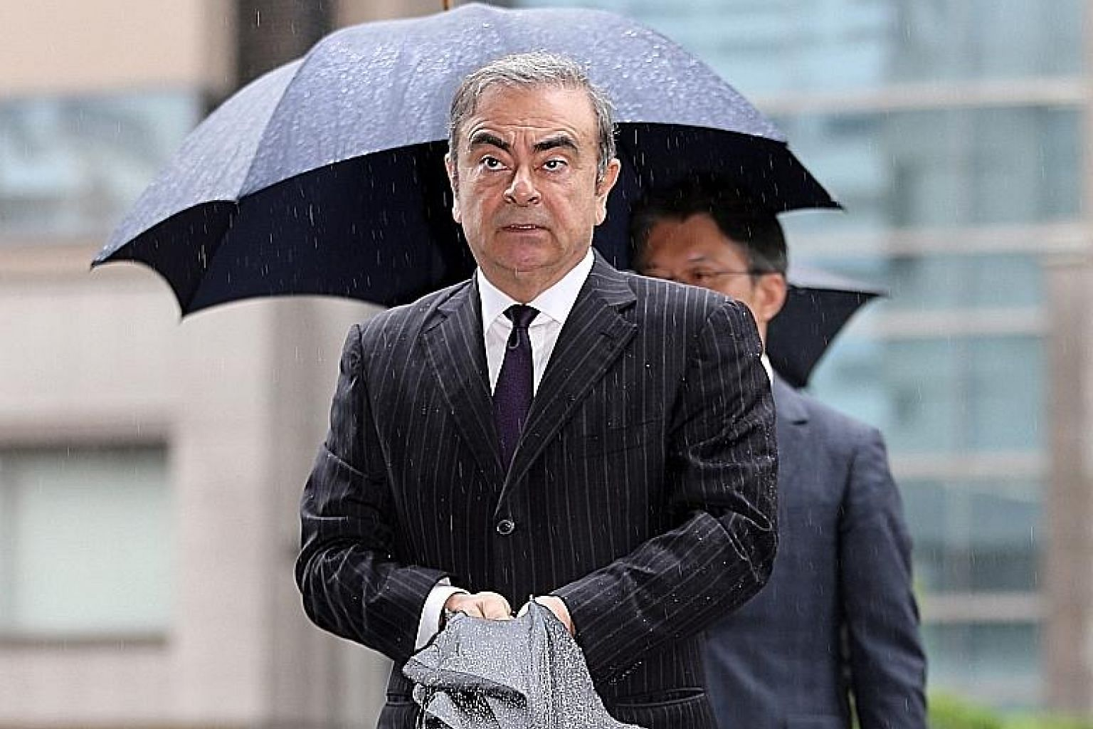 Carlos Ghosn, the former head of the Renault-Nissan-Mitsubishi carmaking alliance, was arrested in Tokyo last year and is out on bail of US$13.5 million (S$18.5 million).