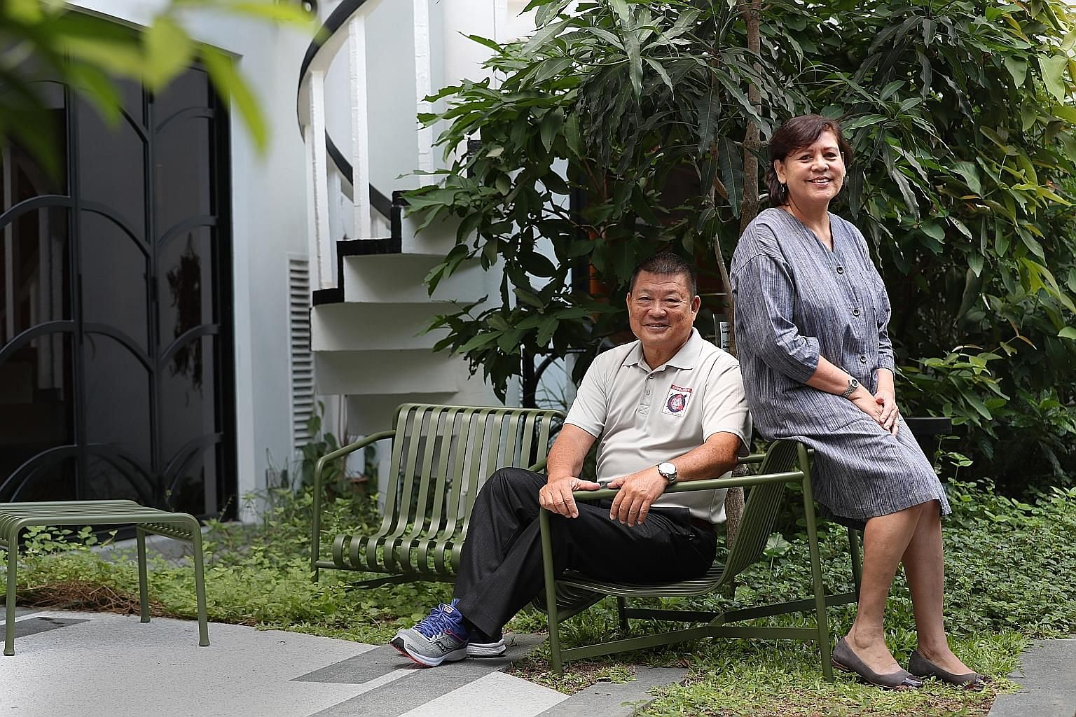 Mr George Lee Song Choo plays one of the main characters in the film A Lifesaver's Passion, which is partly inspired by his experiences, while Ms Barbara D'Cotta inspired the film titled A Teacher's Education.