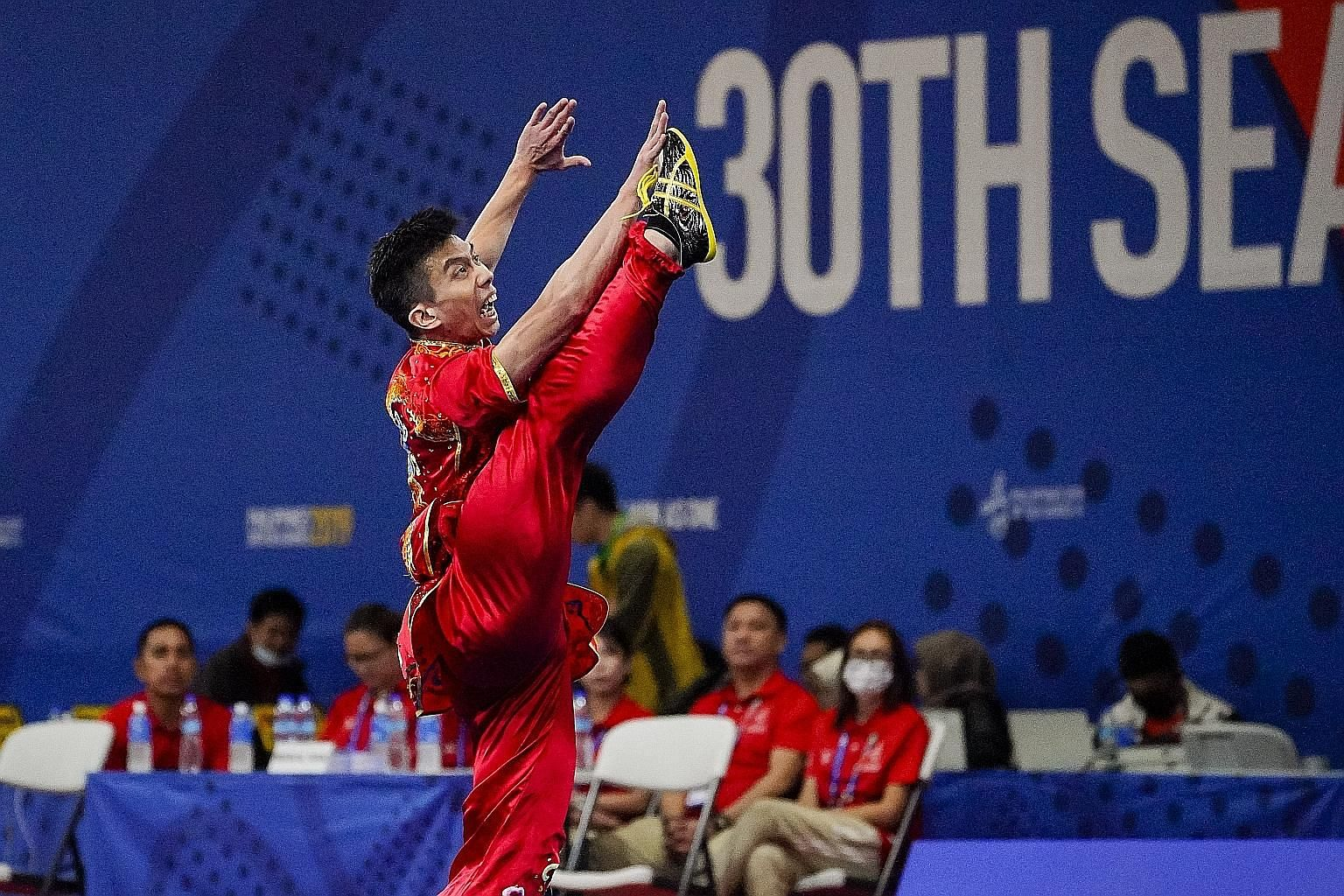 Yong Yi Xiang's gold-medal display in the men's changquan event has boosted his confidence after a disappointing World Wushu Championships.