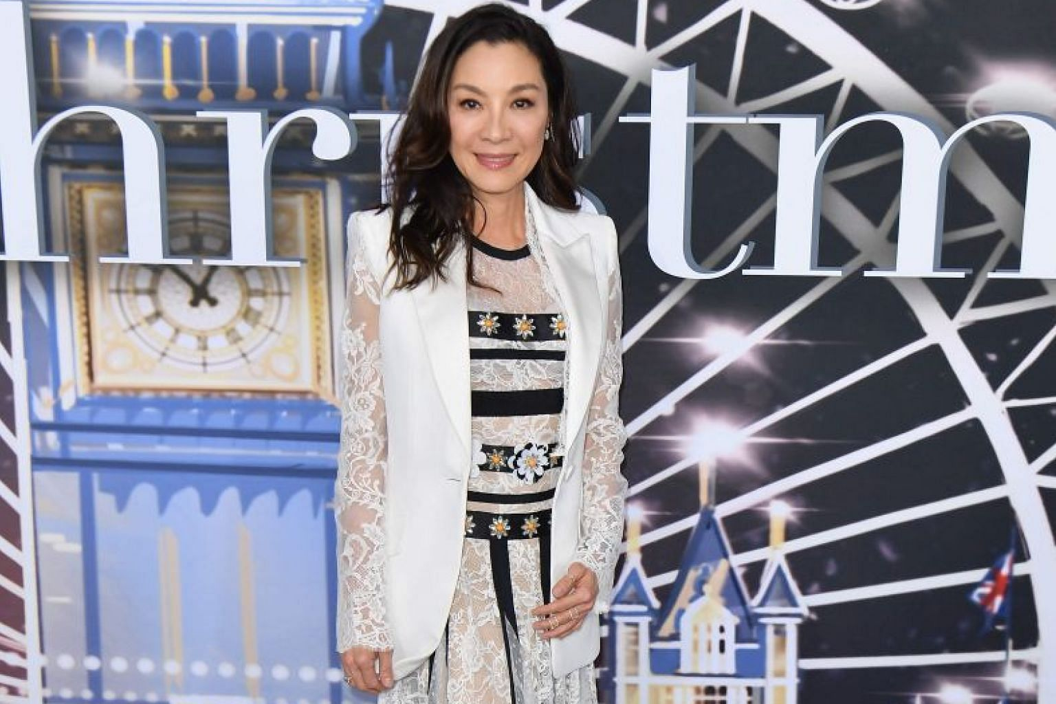 Michelle Yeoh credits luck and tenacity for her success.