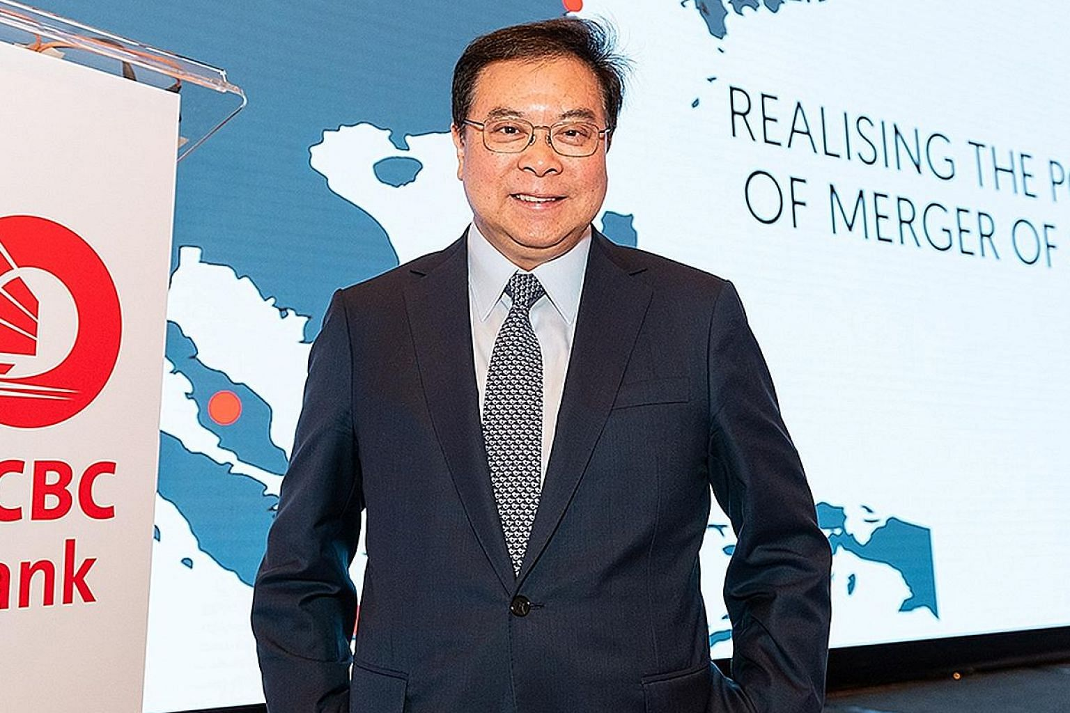 """OCBC Bank CEO Samuel Tsien signalled that he favours internal candidates over external ones to succeed him when the time comes. """"We have internal candidates... who are able to take over the bank in the event of a need,"""" he said."""