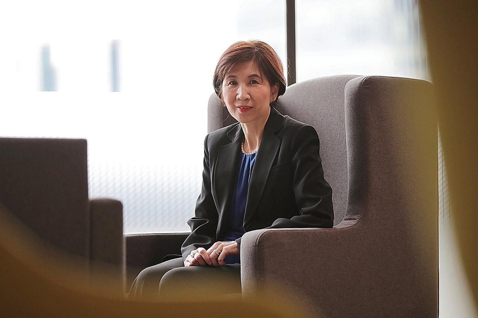 Ms Ng Bee Kim, director-general of trade at the Ministry of Trade and Industry, says trade defines Singapore's chances of success.
