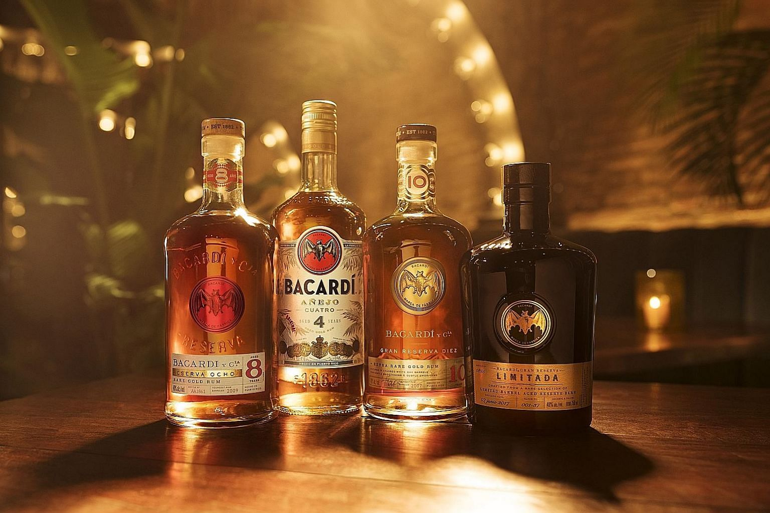 Bacardi's range of premium rums (above), St George Atlas orange gin and Hendrick's first variation gin in almost 20 years, called Orbium.