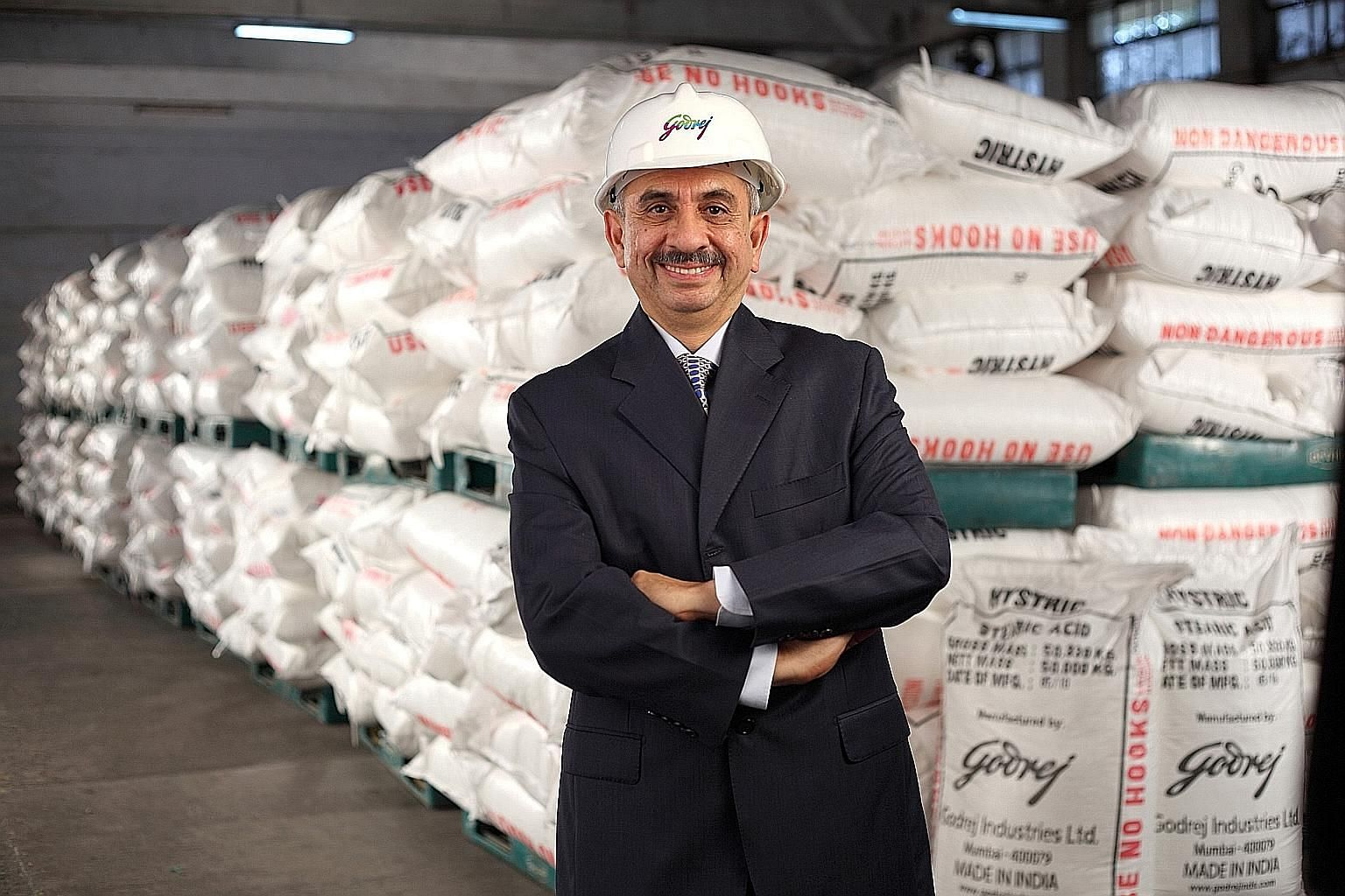 Mr Nadir Godrej, chairman of Godrej Agrovet, which is modifying rapeseed to create a cheaper alternative to soymeal as poultry feed.