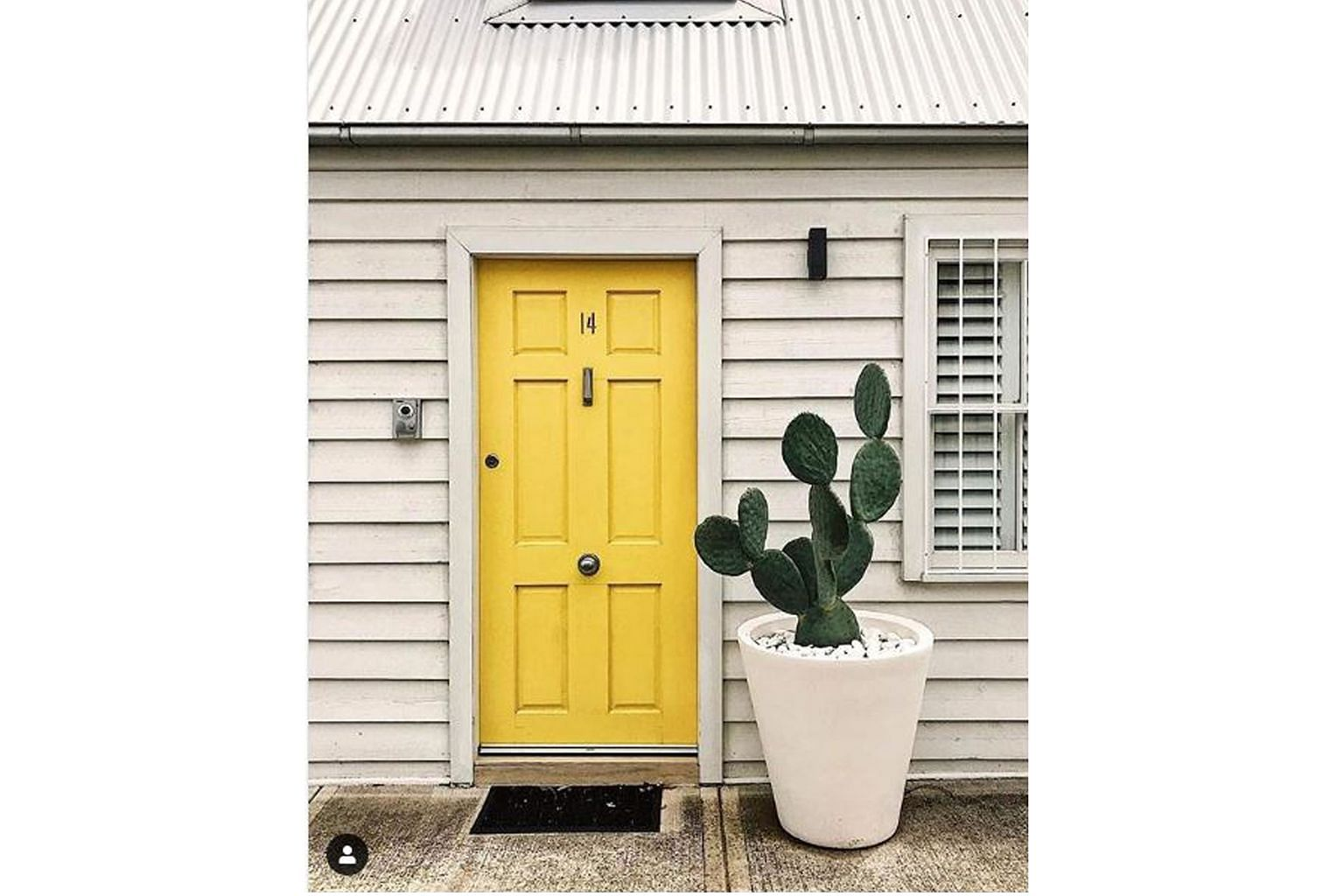 Choosing the right colour for your front door can set the tone for the overall experience the house provides, says colour consultant Kristen Chuber. For instance, choose yellow for a boost to spirits or blue to create a subtle statement.