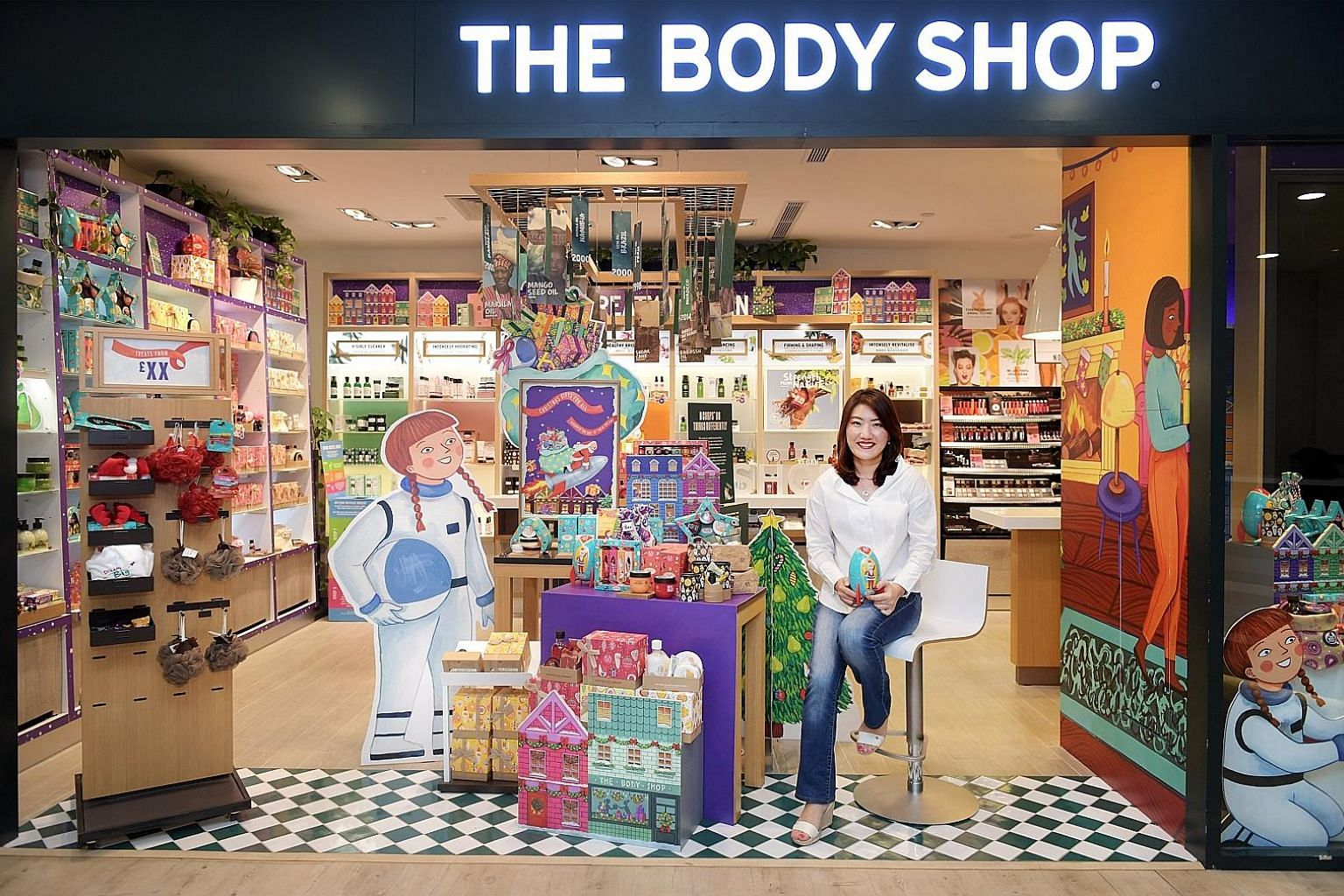 Ms Yang Kean Hye, The Body Shop's general manager for the Asia-Pacific and Singapore, says the company's sustainable ethos keeps it relevant in a retail environment where customers flock to online sources and hop from brand to brand. The company is a