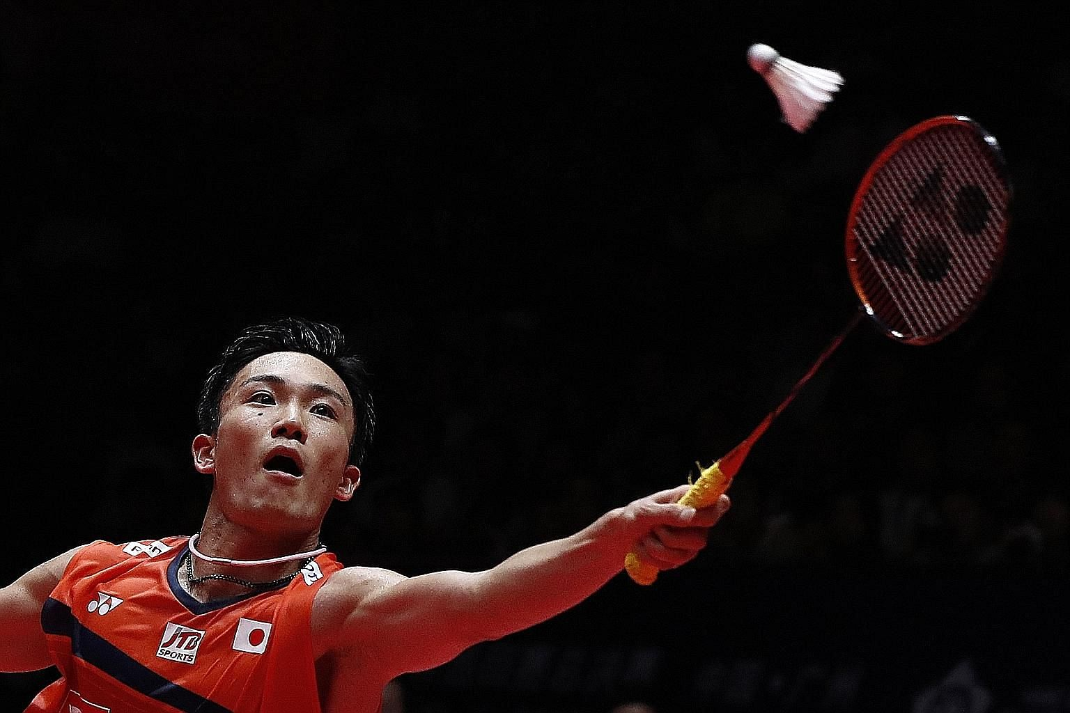 Japan's Kento Momota captured a record 11th title of the year in yesterday's season finale, surpassing the 10 tournament wins racked up by Malaysian great Lee Chong Wei in 2010.