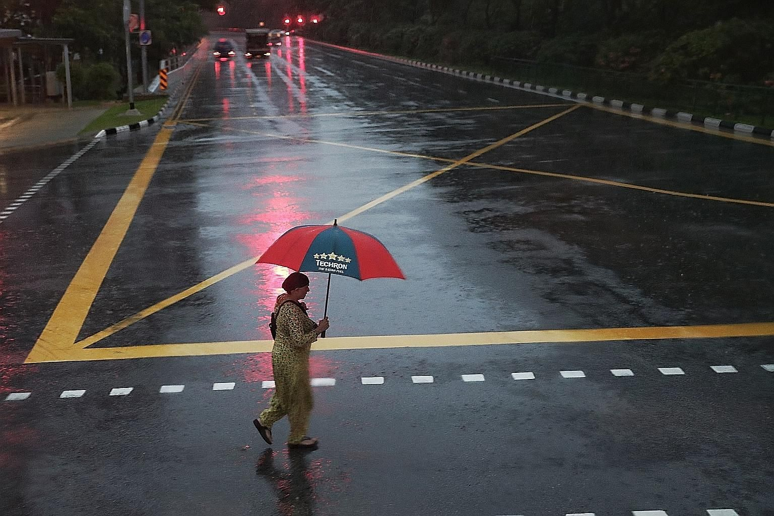 Overall rainfall for this month is expected to be well above average, with moderate to heavy thundery showers expected in the afternoon on eight to 10 days for the rest of the month, said the National Environment Agency's Meteorological Service Singa