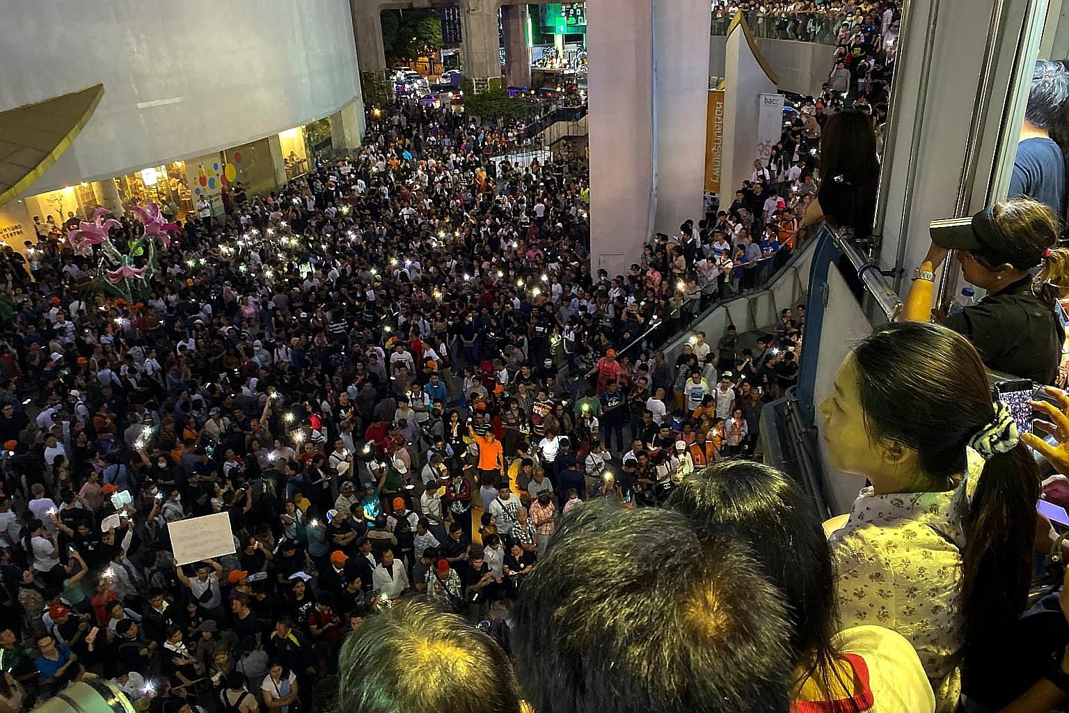 """First-timers joined veterans of Bangkok's turbulent decades of street protests last Saturday, as thousands rallied in the Thai capital in the biggest demonstration since a 2014 coup. The protest was called just a day before - as a """"flash mob"""" - throu"""