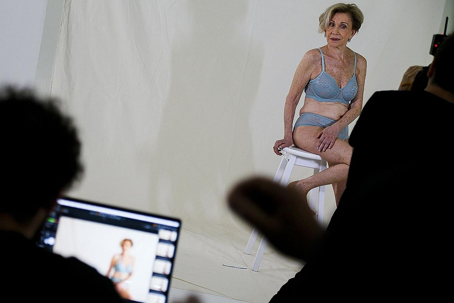 Brazilian grandmother Helena Schargel, 79, has launched several underwear collections with Recco Lingerie, modelling in the garments herself.