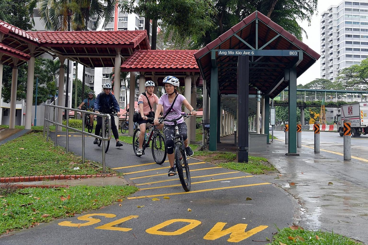 Ang Mo Kio, which was designated as a walking and cycling town in 2014, will have 20km of cycling paths by 2022. This would make the network one of the longest in residential towns in Singapore. Senior Minister of State for Transport Lam Pin Min said