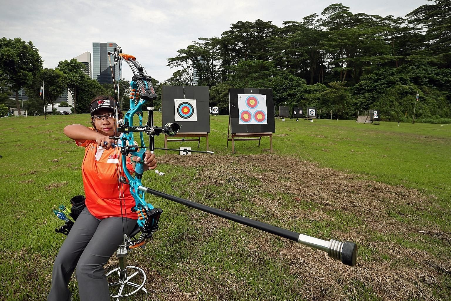 Para-archer Nur Syahidah Alim is one of Singapore's 63 athletes affected by the APG postponement. The world No. 1, who won gold in the compound event at the 2017 Games, insists she will still deliver her best.